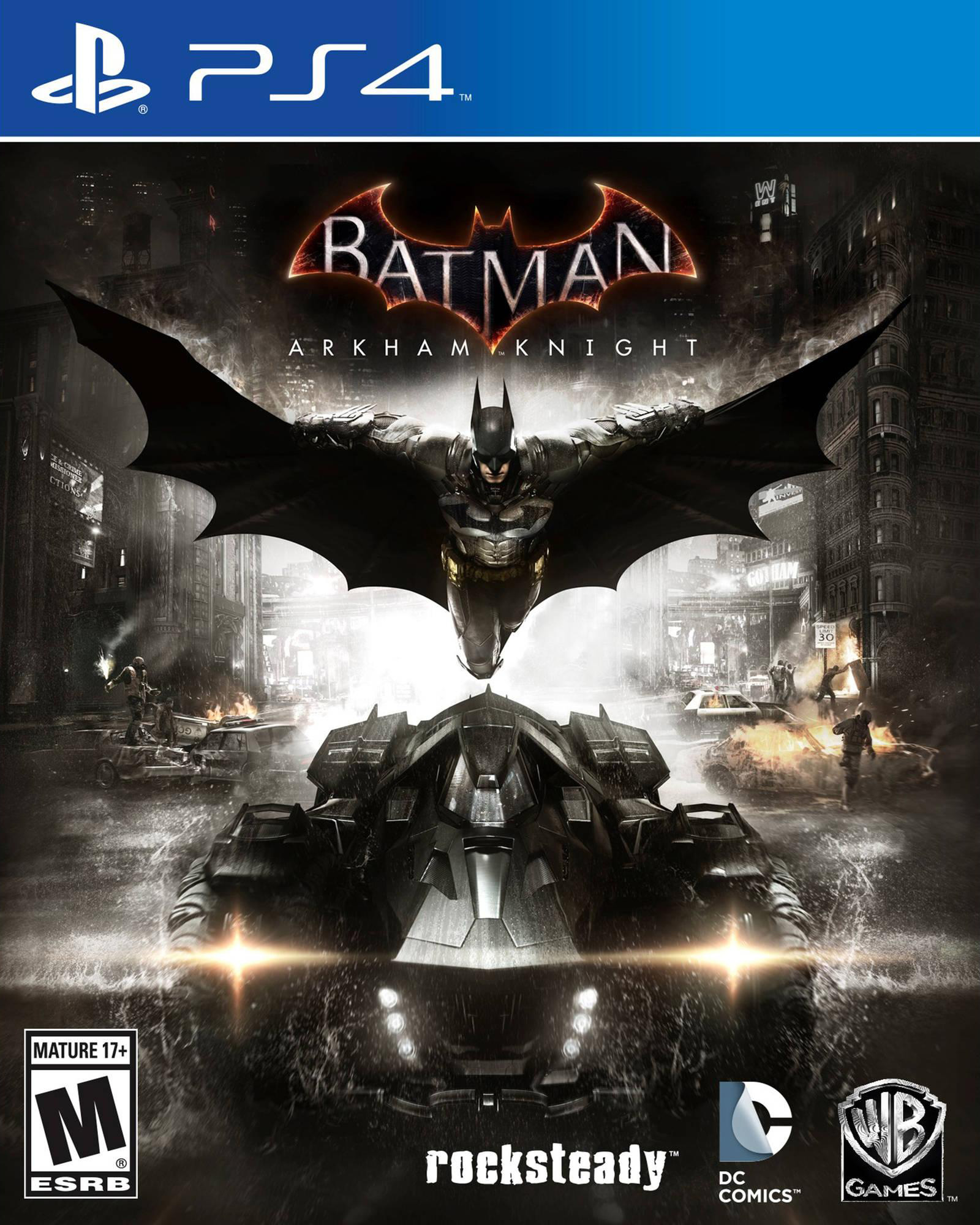Batman Arkham Knight Premium Edition [PS4] 5.05 [HEN] [EUR] (2015) [Русский/Английский] (v1.14)