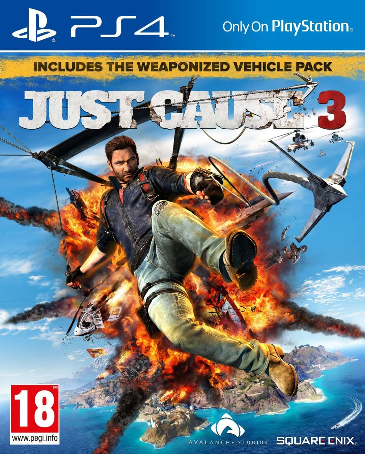 Just Cause 3 XL Edition [PS4] 5.05 [HEN] [EUR] (2015) [Русский/Английский] (v1.05)