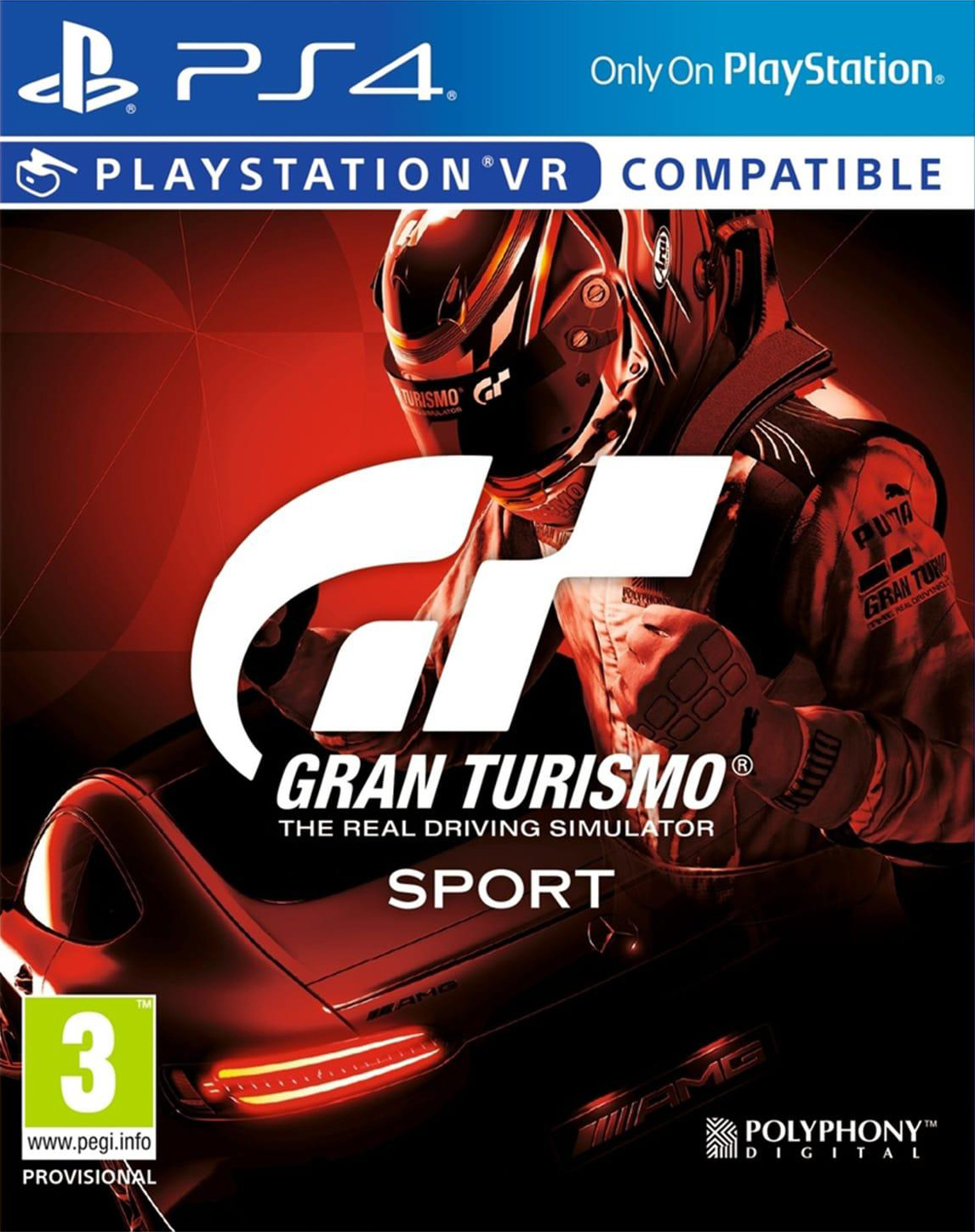 Gran Turismo Sport [PS4 Exclusive VR] 5.05 [HEN] [EUR] (2017) [Русский/Английский] (v1.14)