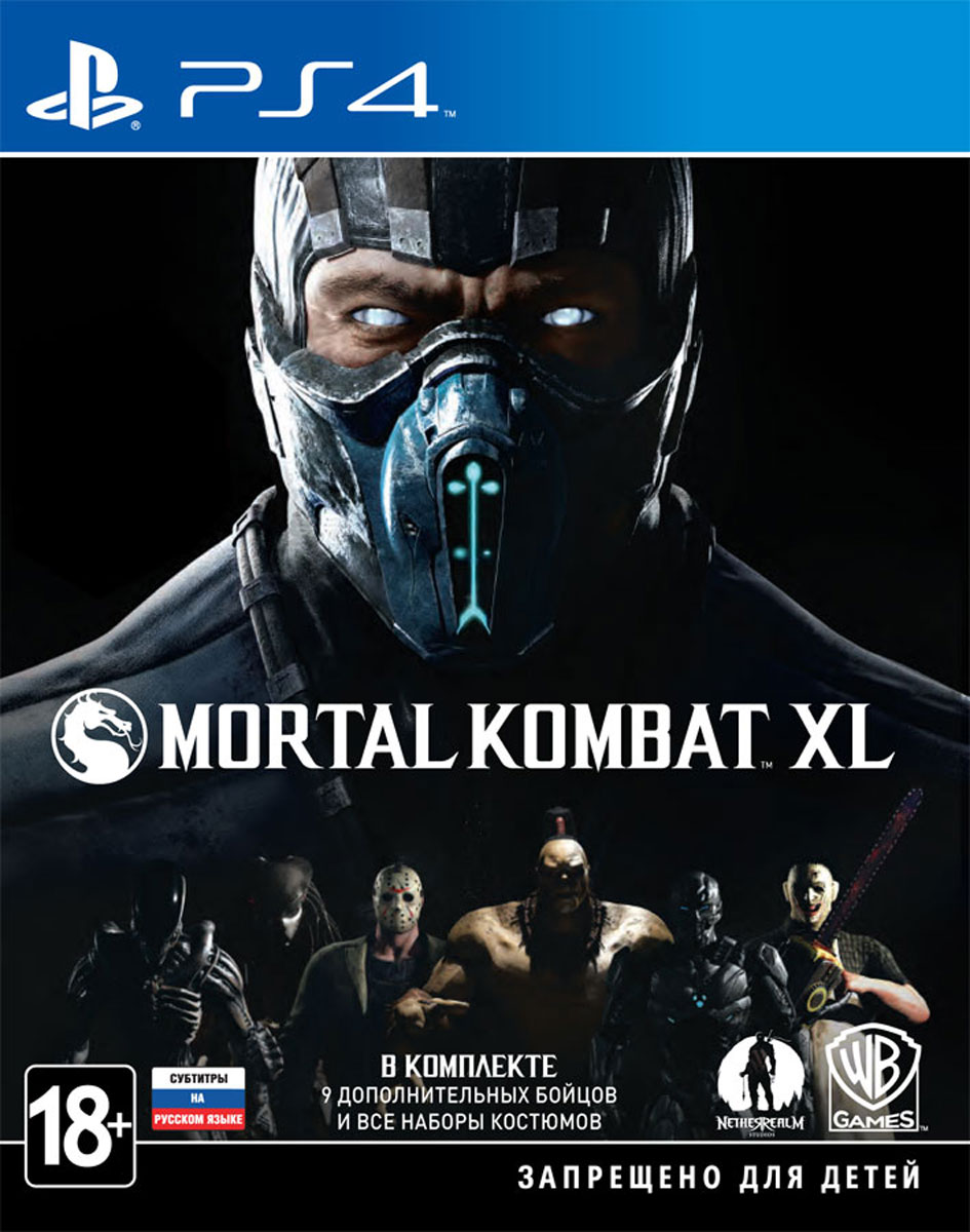 Mortal Kombat XL [PS4] 5.05 / 6.72 / 7.02 [EUR] (2016) [Русский] (v1.04)