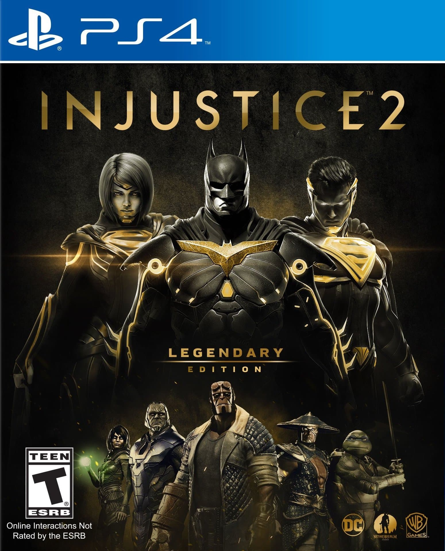 Injustice 2 Legendary Edition [PS4] 5.05 / 6.72 [USA] (2017) [Русский/Английский] (v1.00)