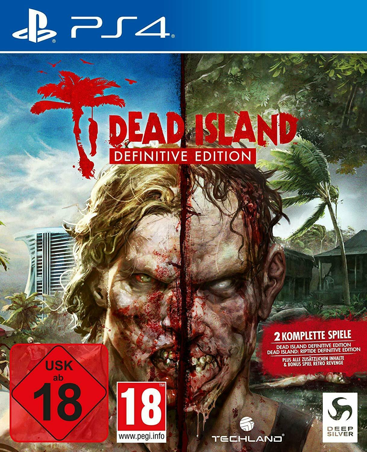 Dead Island Riptide Definitive Edition [PS4] 5.05 / 6.72 [EUR] (2016) [Русский/Английский] (v1.03)
