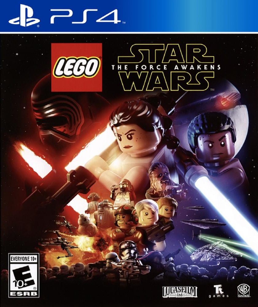 Lego Star Wars The Force Awakens [PS4] 5.05 / 6.72 [EUR] (2016) [Русский/Английский] (v1.09)