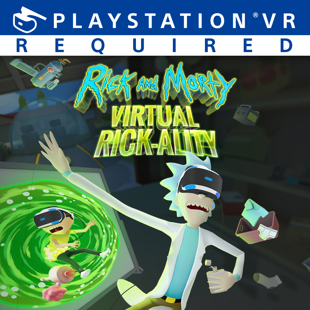 Rick and Morty Virtual Rick-ality [PS4 VR Only] 5.05 / 6.72 [EUR] (2018) [Английский] (v1.00)