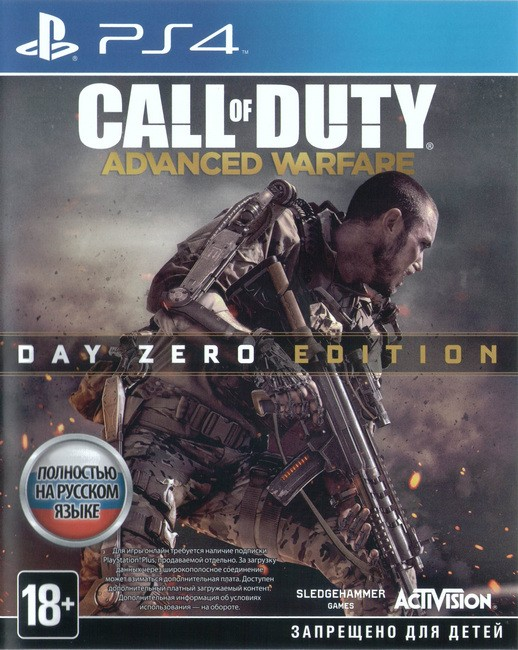 Call of Duty: Advanced Warfare [PS4] 5.05 / 6.72 / 7.02 [EUR] (2014) [Русский] (v1.23)
