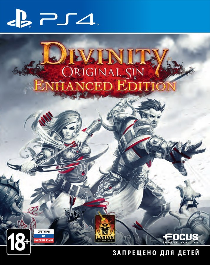 Divinity Original Sin Enhanced Edition [PS4] 5.05 / 6.72 [EUR] (2015) [Русский/Английский] (v1.06)