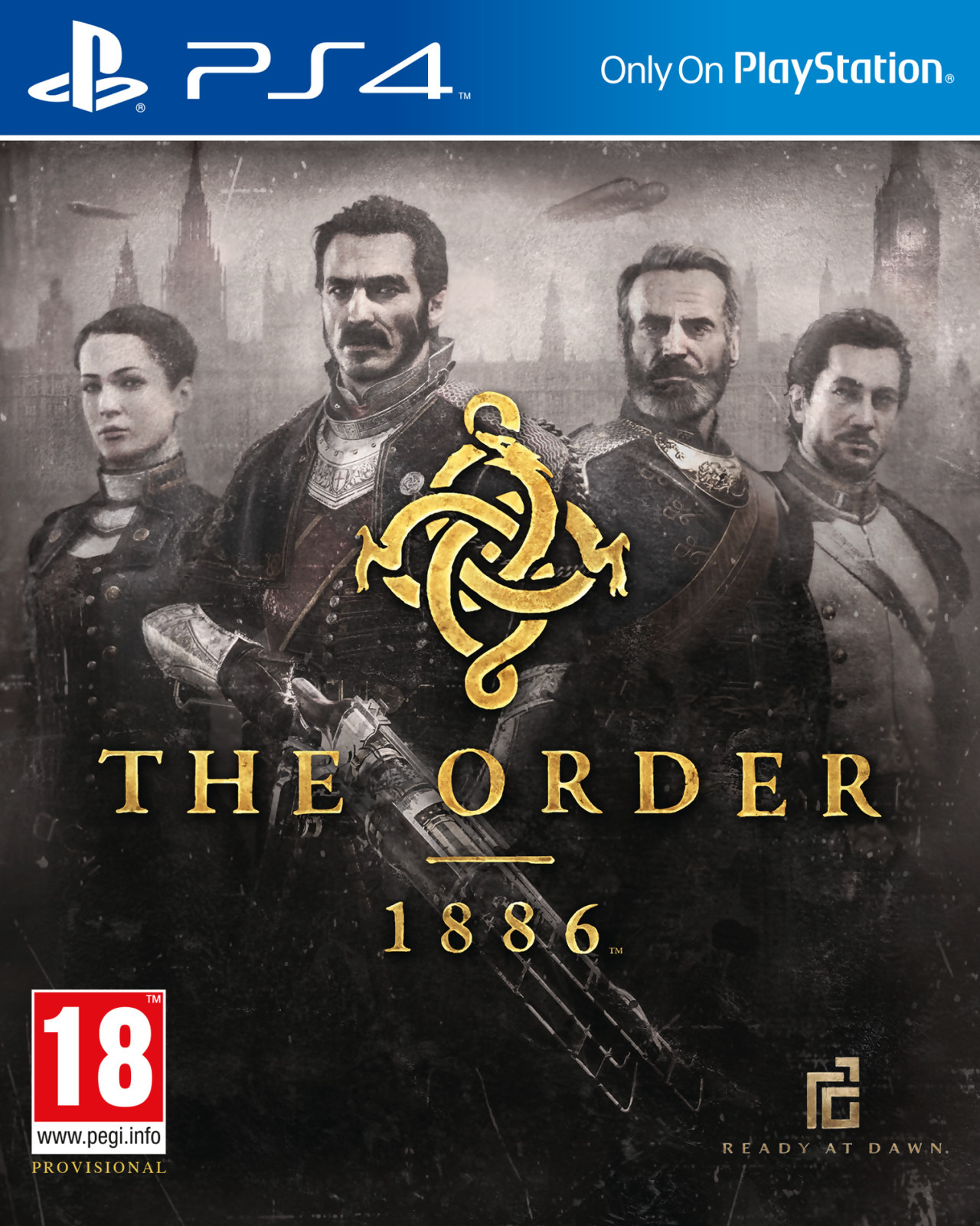 The Order 1886 / Орден 1886 [PS4 Exclusive] 5.05 / 6.72 [EUR] (2015) [Русский/Английский] (v1.02)