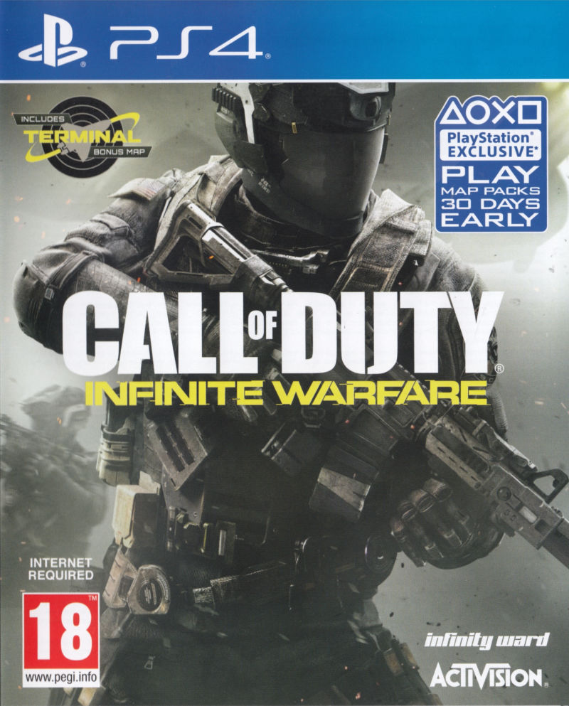 Call of Duty: Infinite Warfare [PS4] 5.05 / 6.72 / 7.02 [EUR] (2016) [Русский] (v1.24)