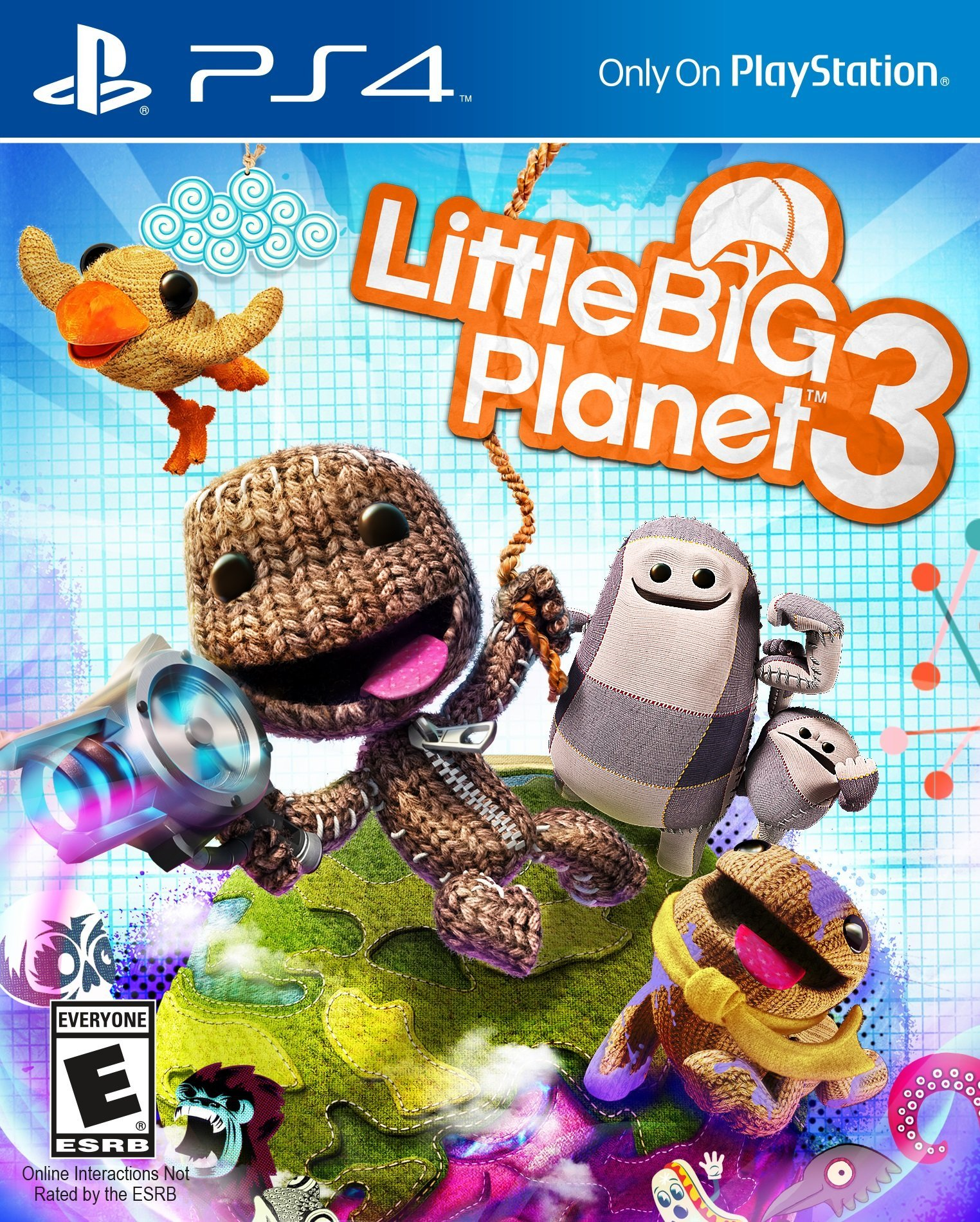 LittleBigPlanet 3 [PS4 Exclusive] 5.05 / 6.72 / 7.02 [EUR] (2014) [Русский] (v1.26)