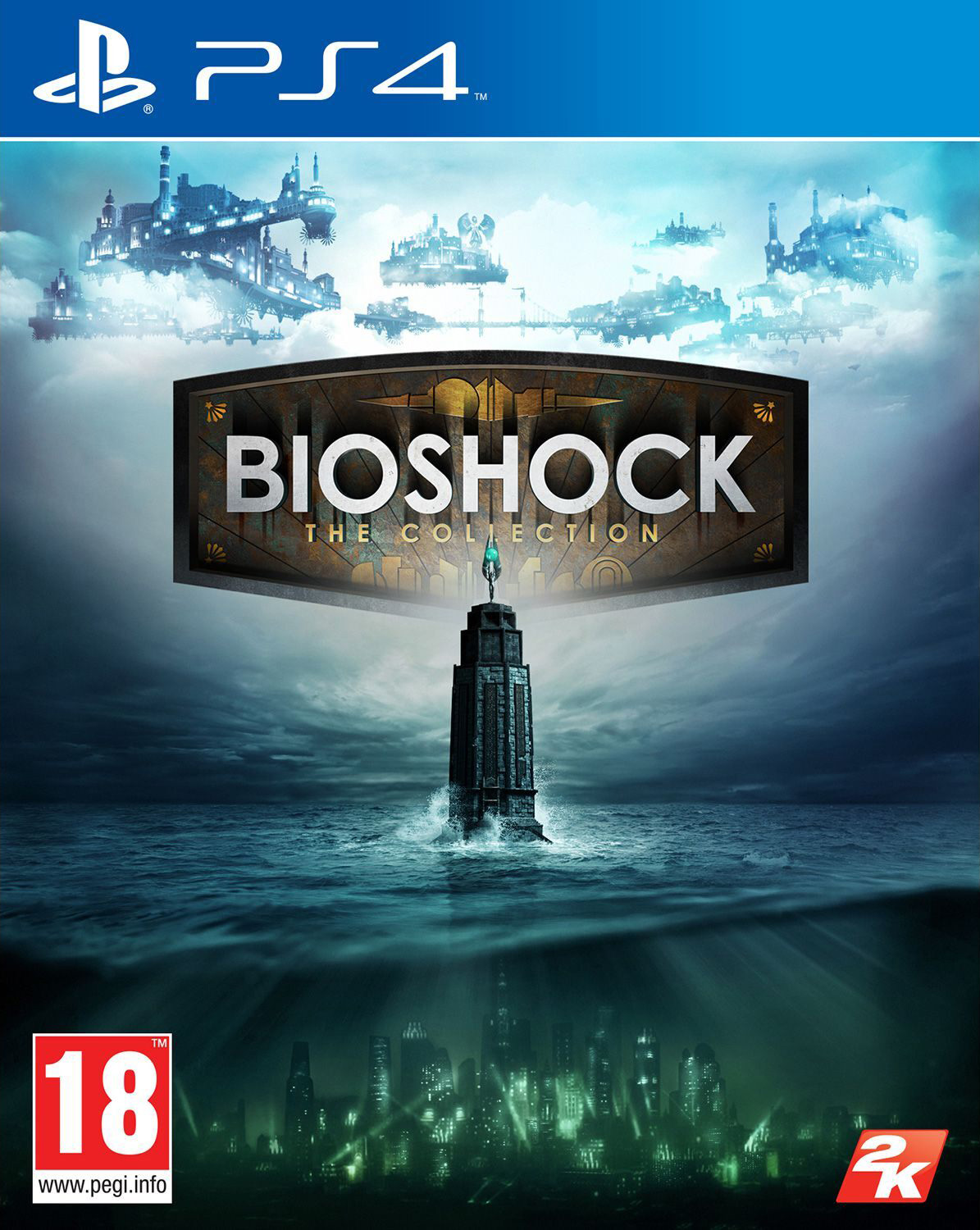 Bioshock The Collection [PS4] 5.05 / 6.72 [EUR] (2016) [Английский] (v1.00)