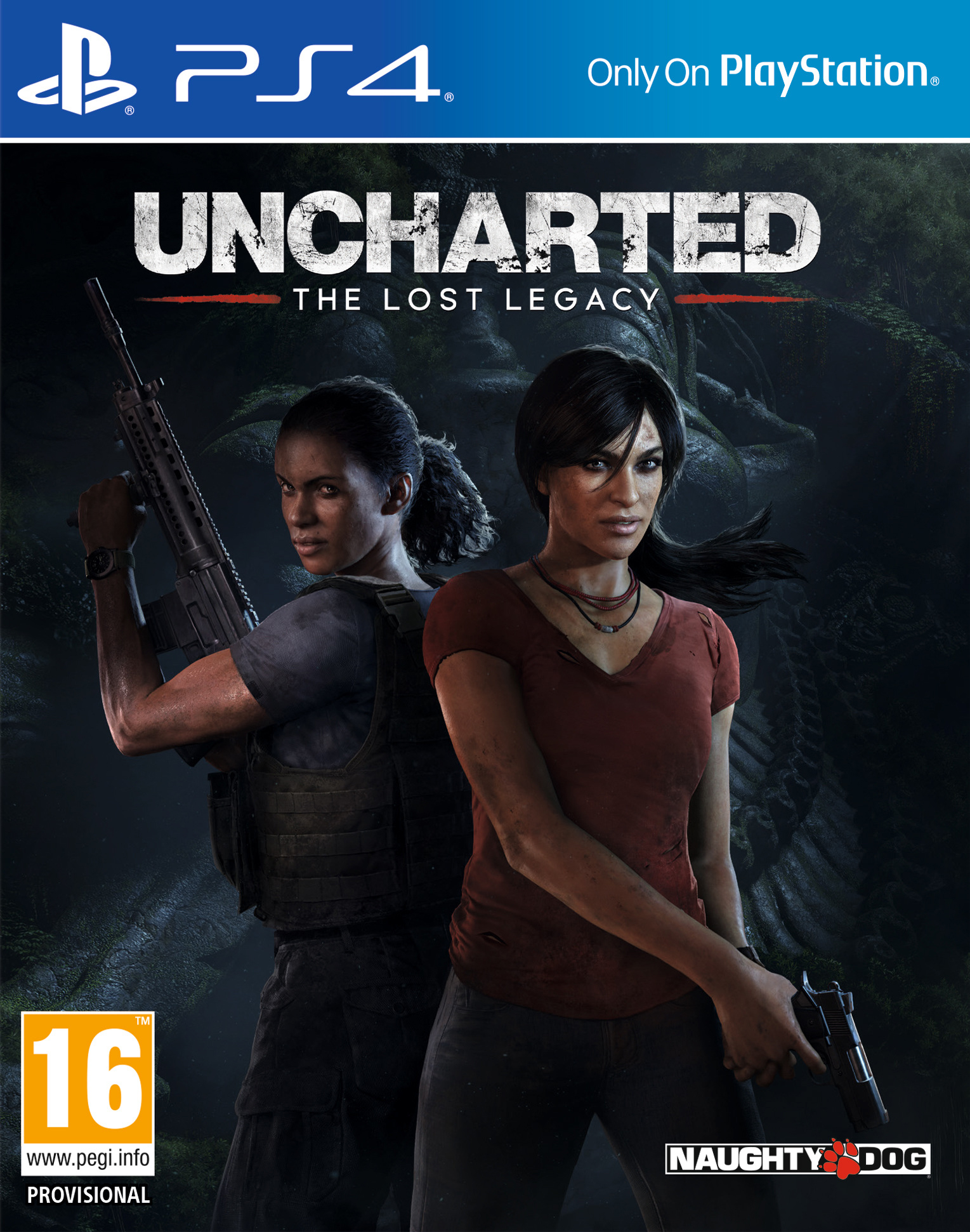 Uncharted: The Lost Legacy / Uncharted: Утраченное Наследие [PS4 Exclusive] 5.05 / 6.72 / 7.02 [EUR] (2017) [Русский/Английский] (v1.08)