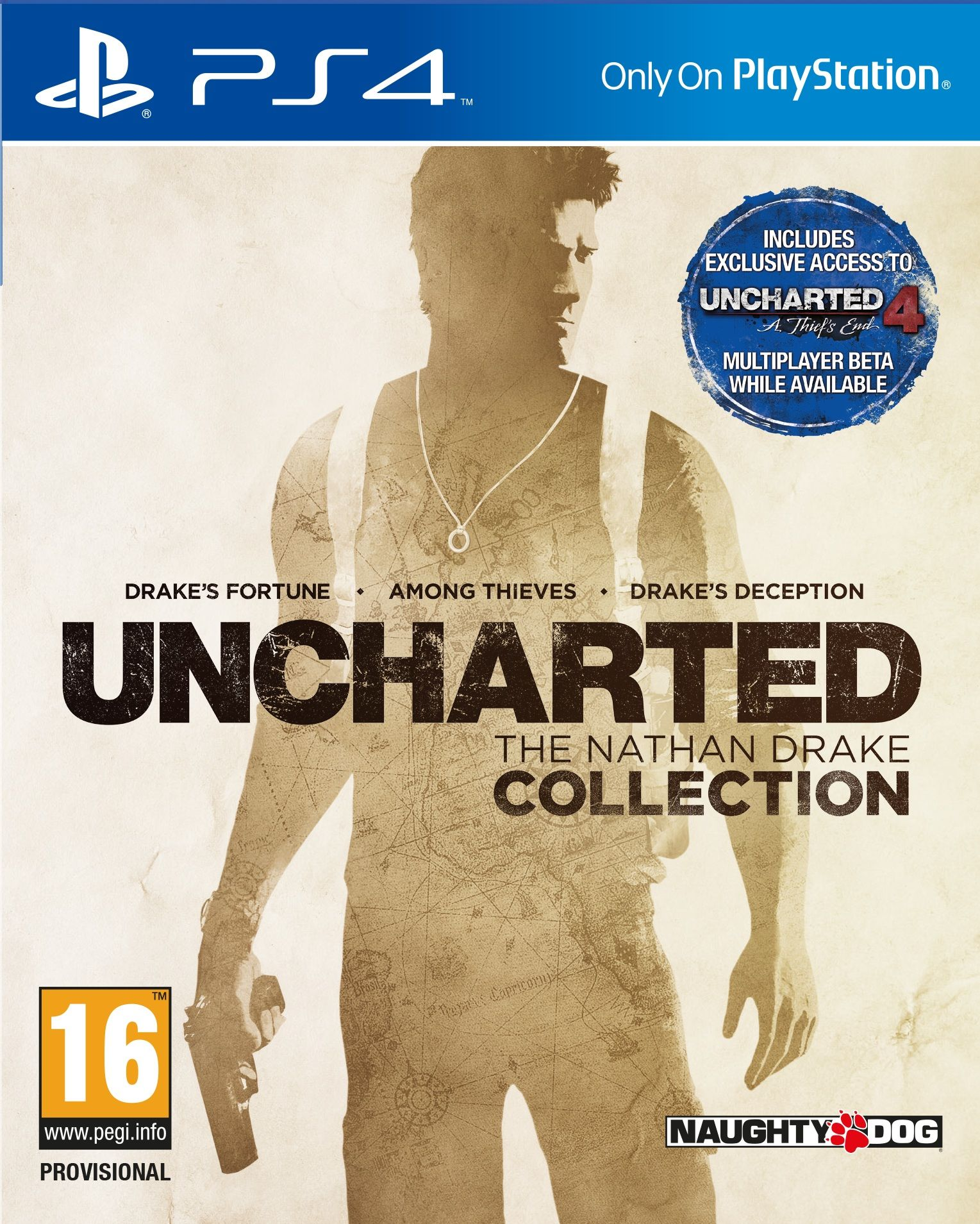 Uncharted 1 2 3 The Nathan Drake Collection [PS4 Exclusive] 5.05 / 6.72 / 7.02 [EUR] (2015) [Русский/Английский] (v1.02)