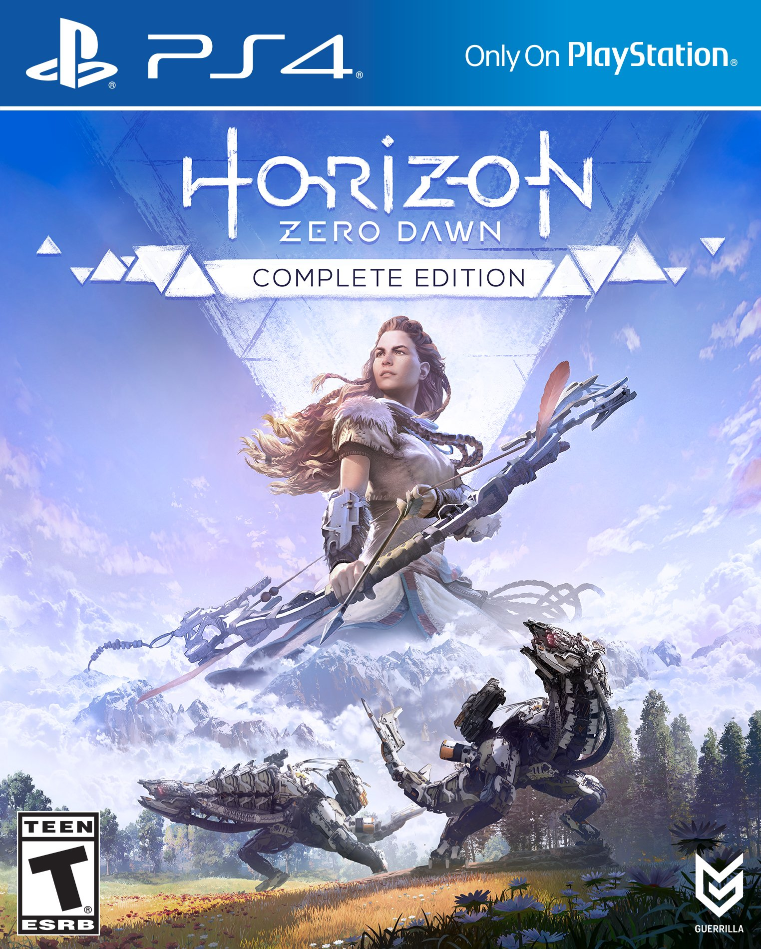 Horizon: Zero Dawn - Complete Edition [PS4 Exclusive] 5.05 / 6.72 / 7.02 [EUR] (2017) [Русский/Английский] (v1.52)