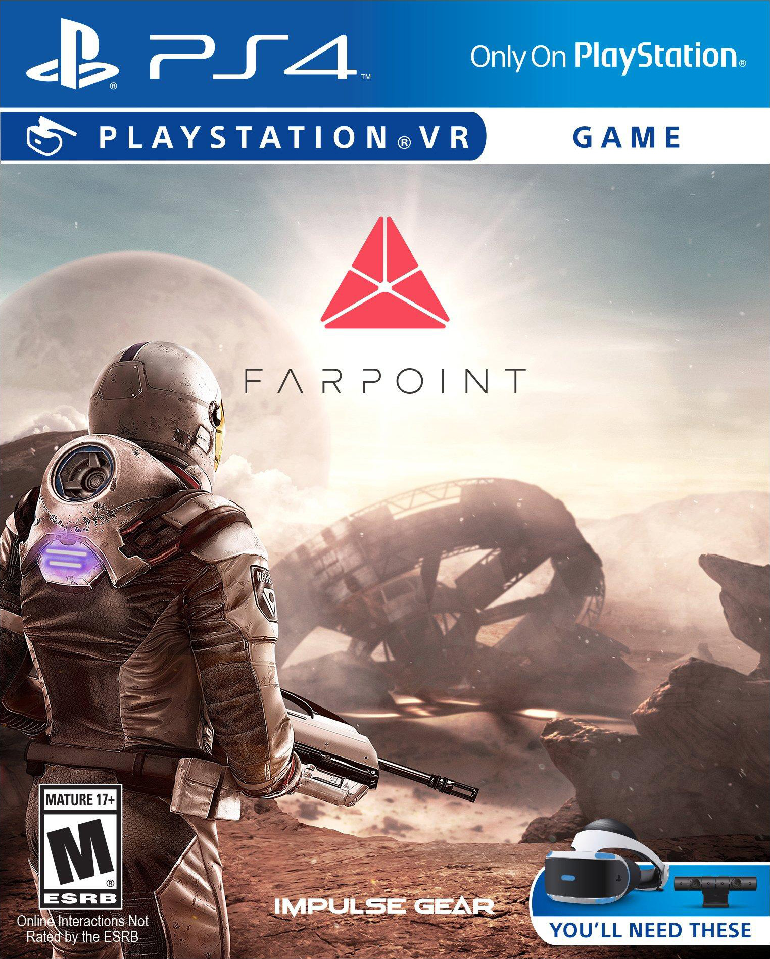 Farpoint [PS4 Exclusive VR Only] 5.05 / 6.72 [EUR] (2017) [Русский/Английский] (v1.08)