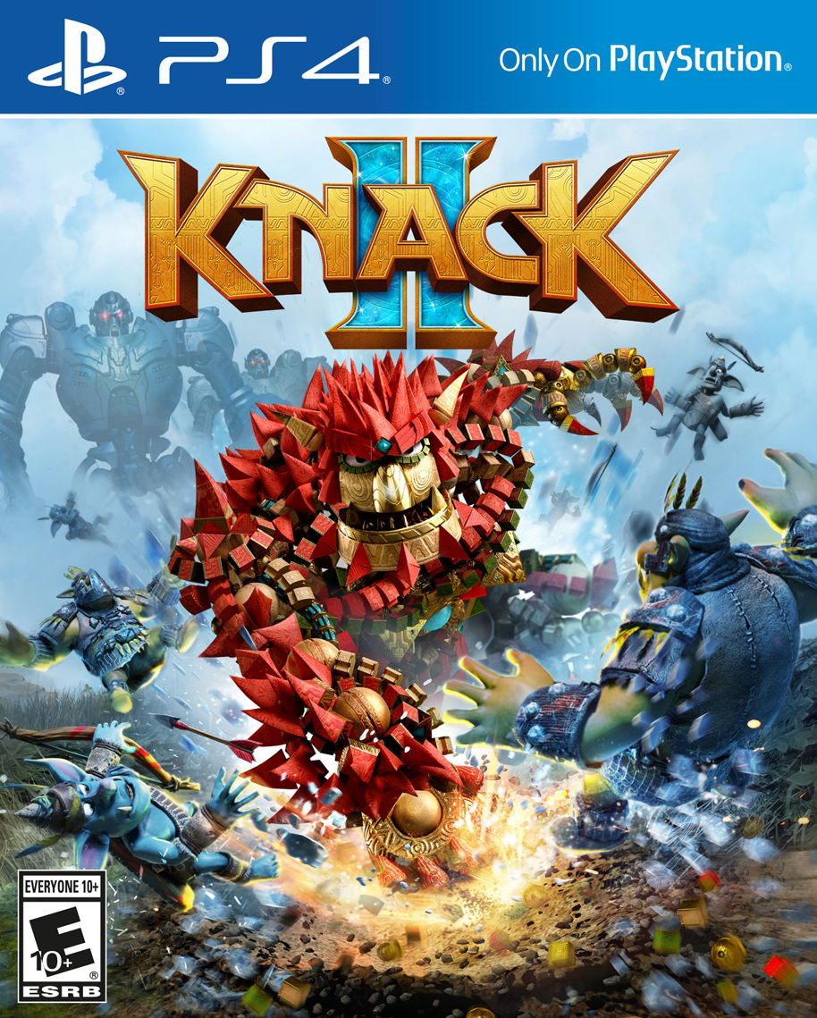 Knack 2 [PS4 Exclusive] 5.05 / 6.72 [EUR] (2017) [Русский/Английский] (v1.01)