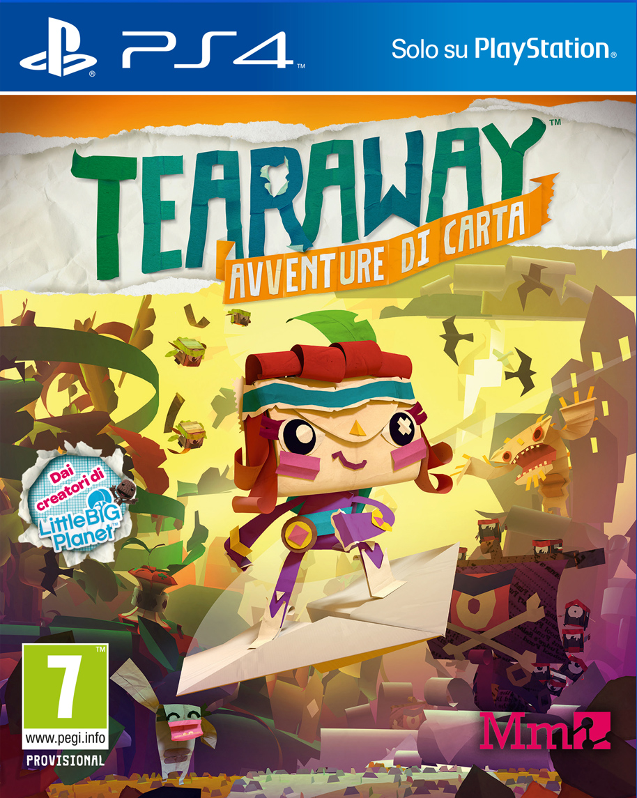 Tearaway: Unfolded [PS4 Exclusive] 5.05 / 6.72 [EUR] (2015) [Русский/Английский] (v1.03)