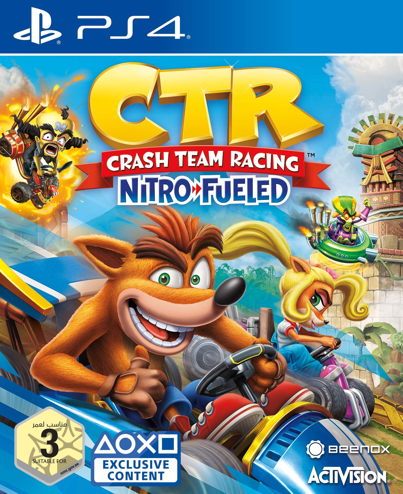 Crash Team Racing: Nitro-Fueled [PS4 Exclusive] 5.05 / 6.72 / 7.02 [EUR] (2019) [Английский] (v1.13)