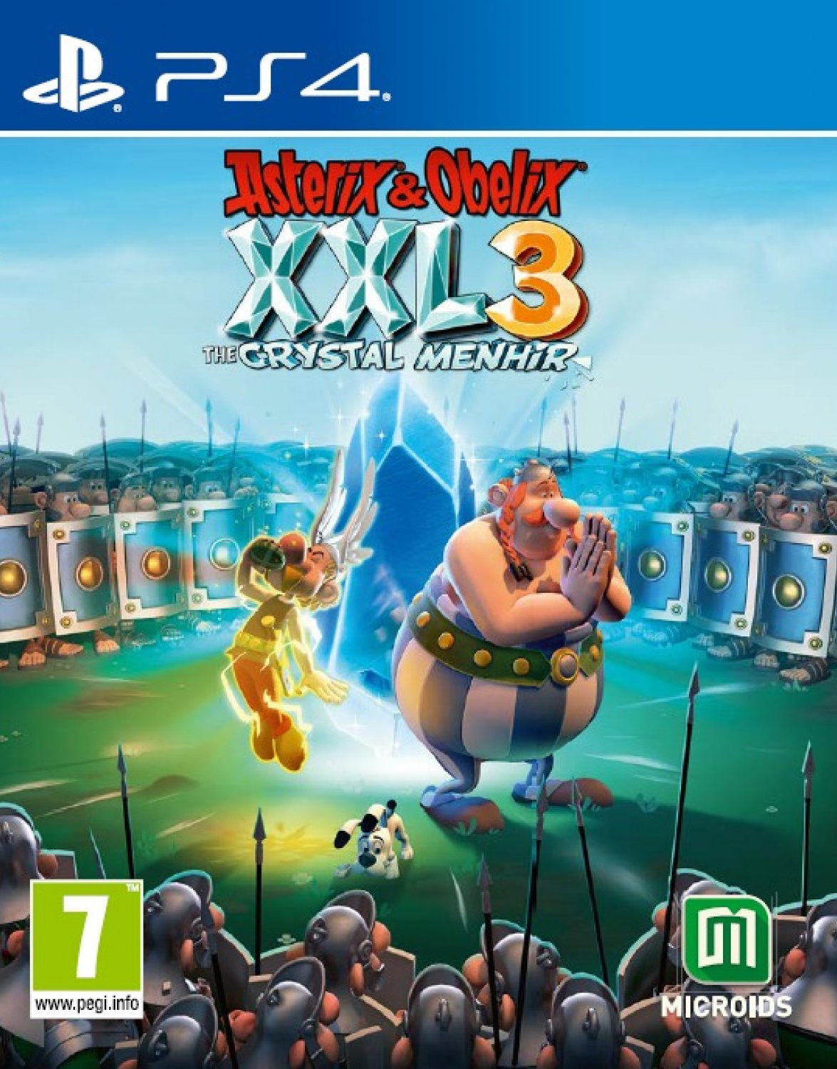 Asterix & Obelix XXL3: The Crystal Menhir [PS4] 5.05 / 6.72 / 7.02 [EUR] (2019) [Русский] (v1.05)