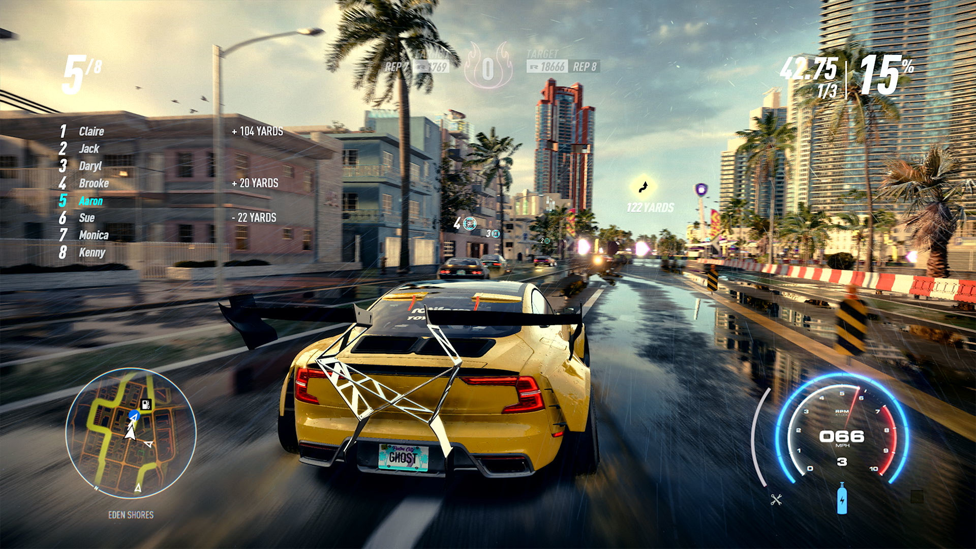 Скриншот *Need for Speed Heat [PS4] 5.05 / 6.72 / 7.02 [EUR] (2019) [Русский] (v1.06)*