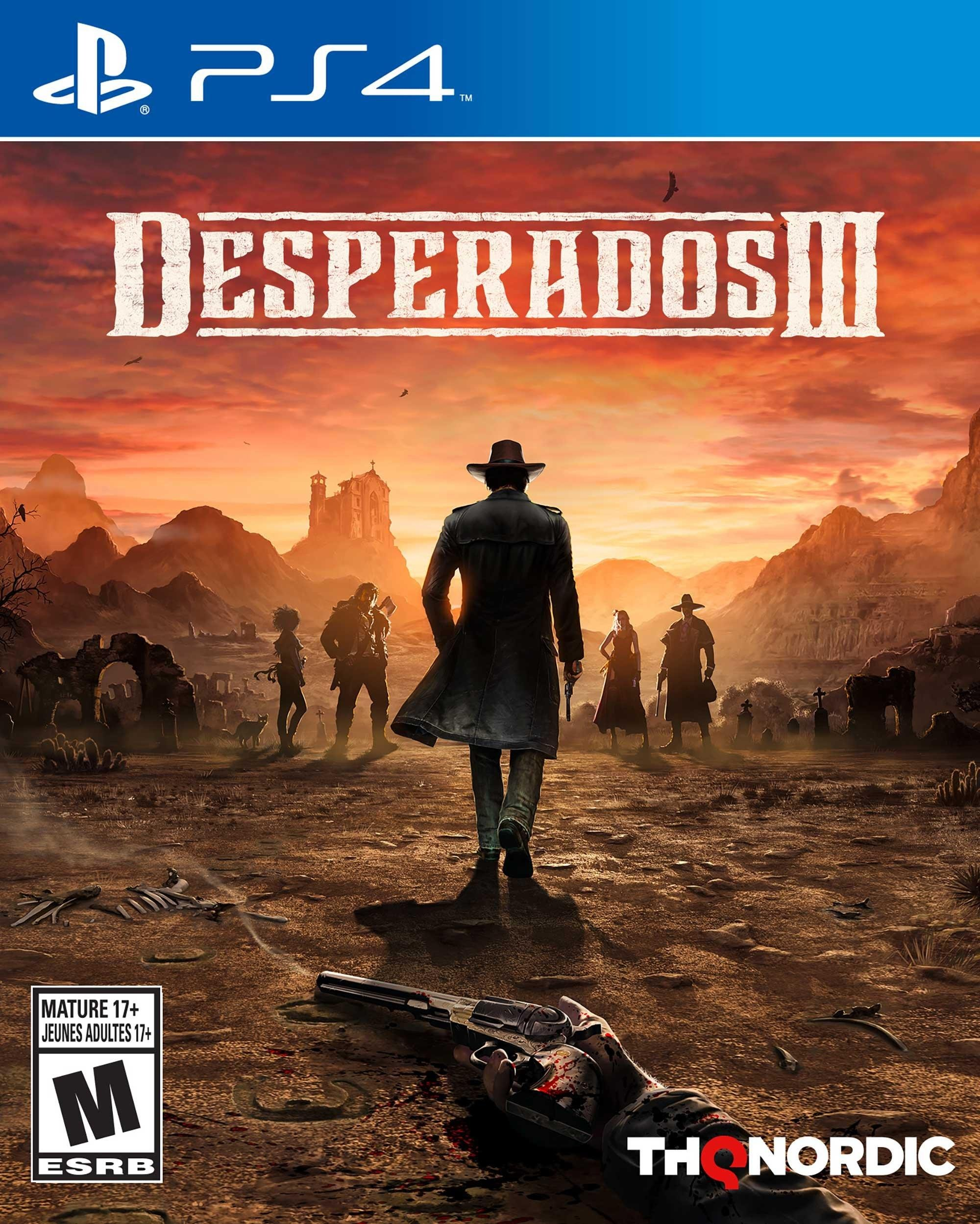 Desperados III [PS4] 6.72 / 7.02 [EUR] (2020) [Русский] (v1.0)