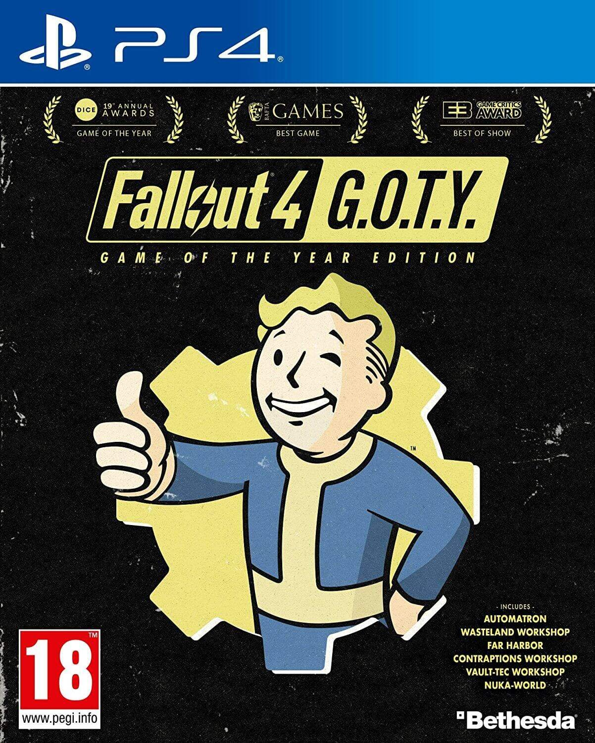 Fallout 4: Game of the Year Edition [PS4] 5.05 / 6.72 / 7.02 [EUR] (2017) [Русский] (v1.34)