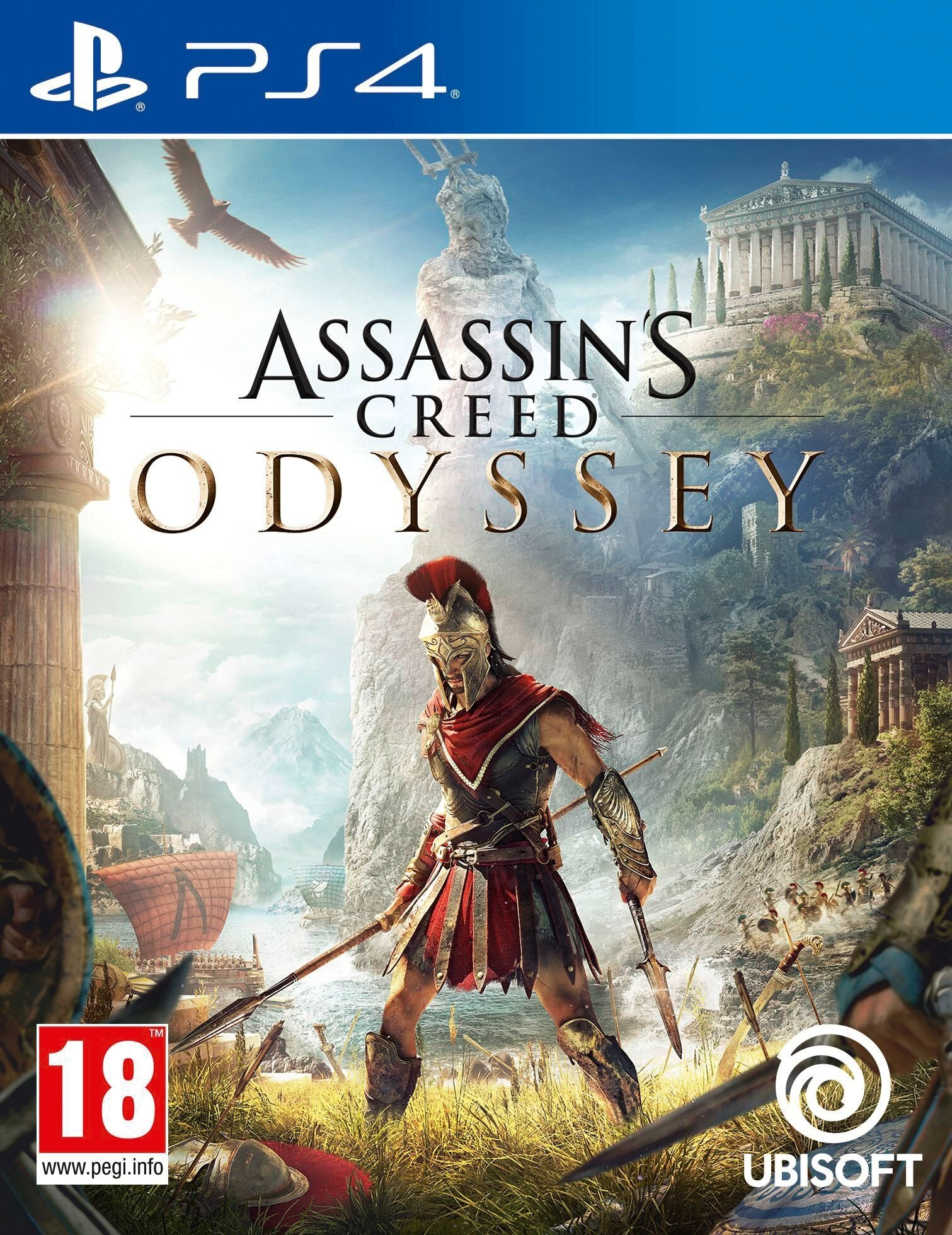 Assassin's Creed: Odyssey [PS4] 5.05 / 6.72 / 7.02 [EUR] (2018) [Русский] (v1.34)