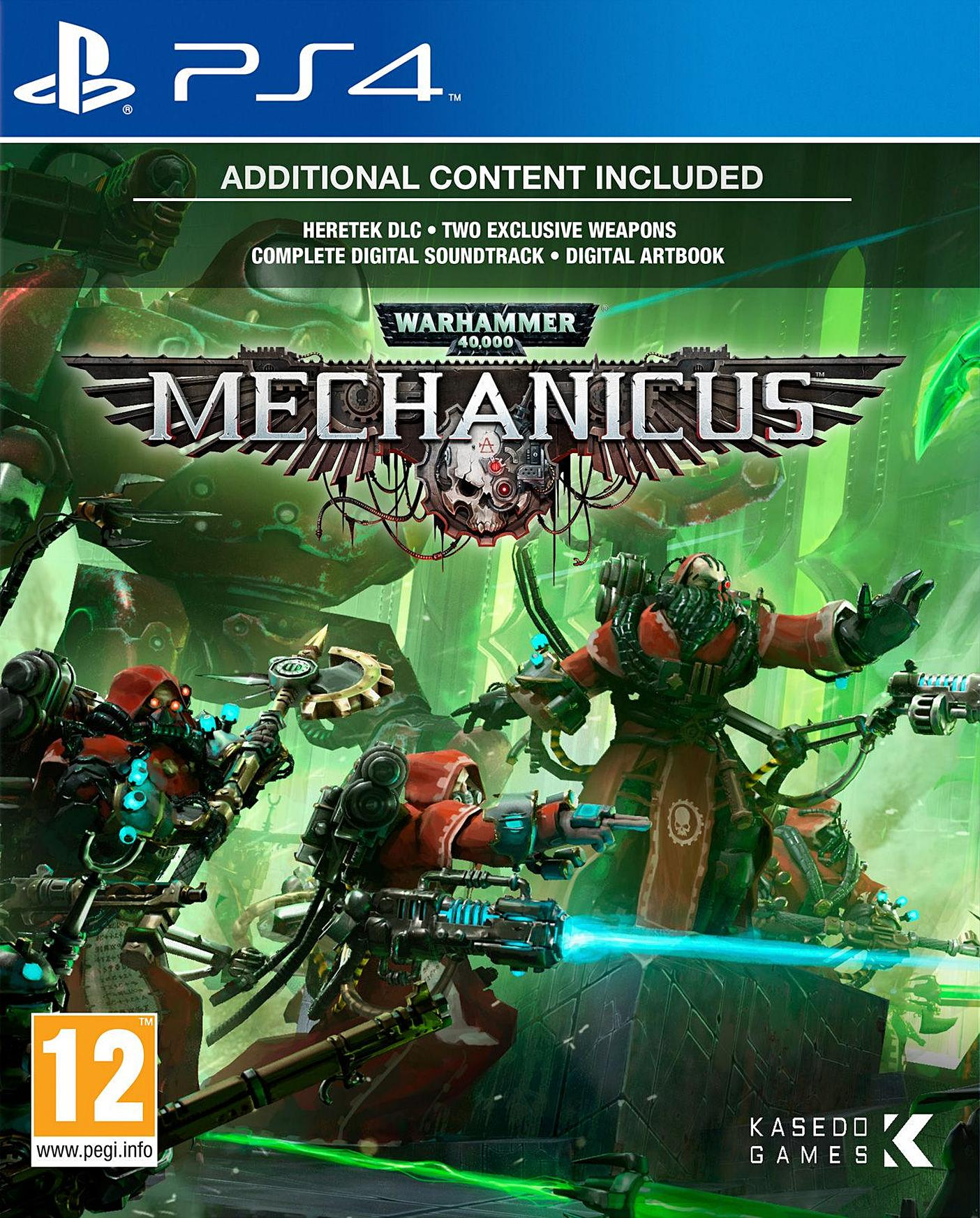Warhammer 40,000: Mechanicus [PS4] 5.05 / 6.72 / 7.02 [EUR] (2020) [Русский] (v1.02)