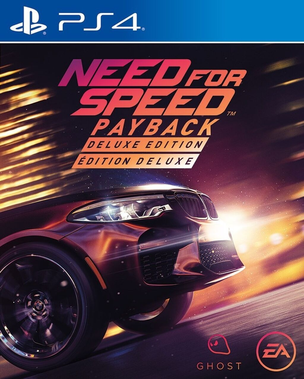 Need for Speed Payback Deluxe Edition [PS4] 5.05 / 6.72 / 7.02 [EUR] (2017) [Русский] (v1.10)