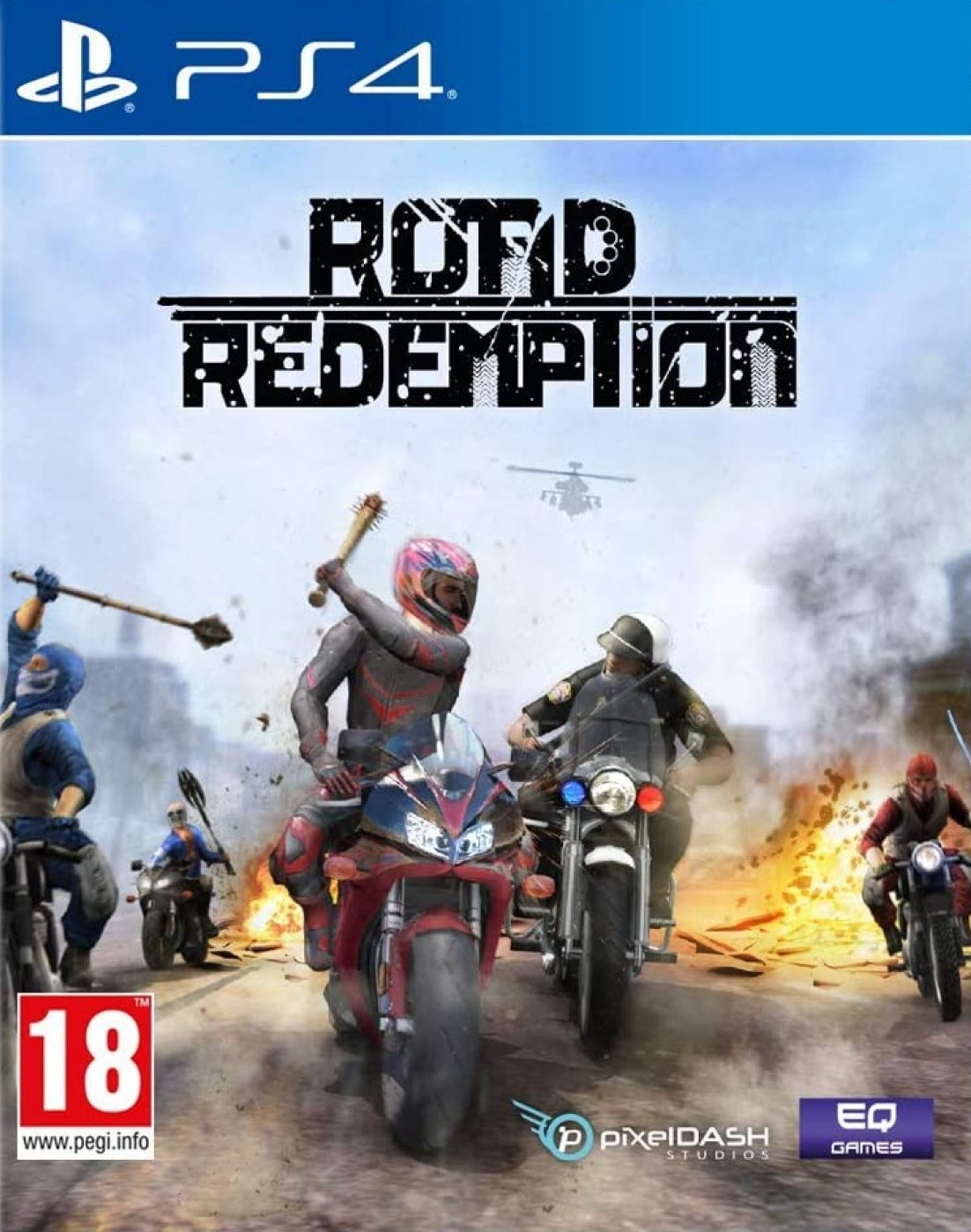 Road Redemption [PS4] 6.72 / 7.02 [EUR] (2018) [Русский] (v1.04)