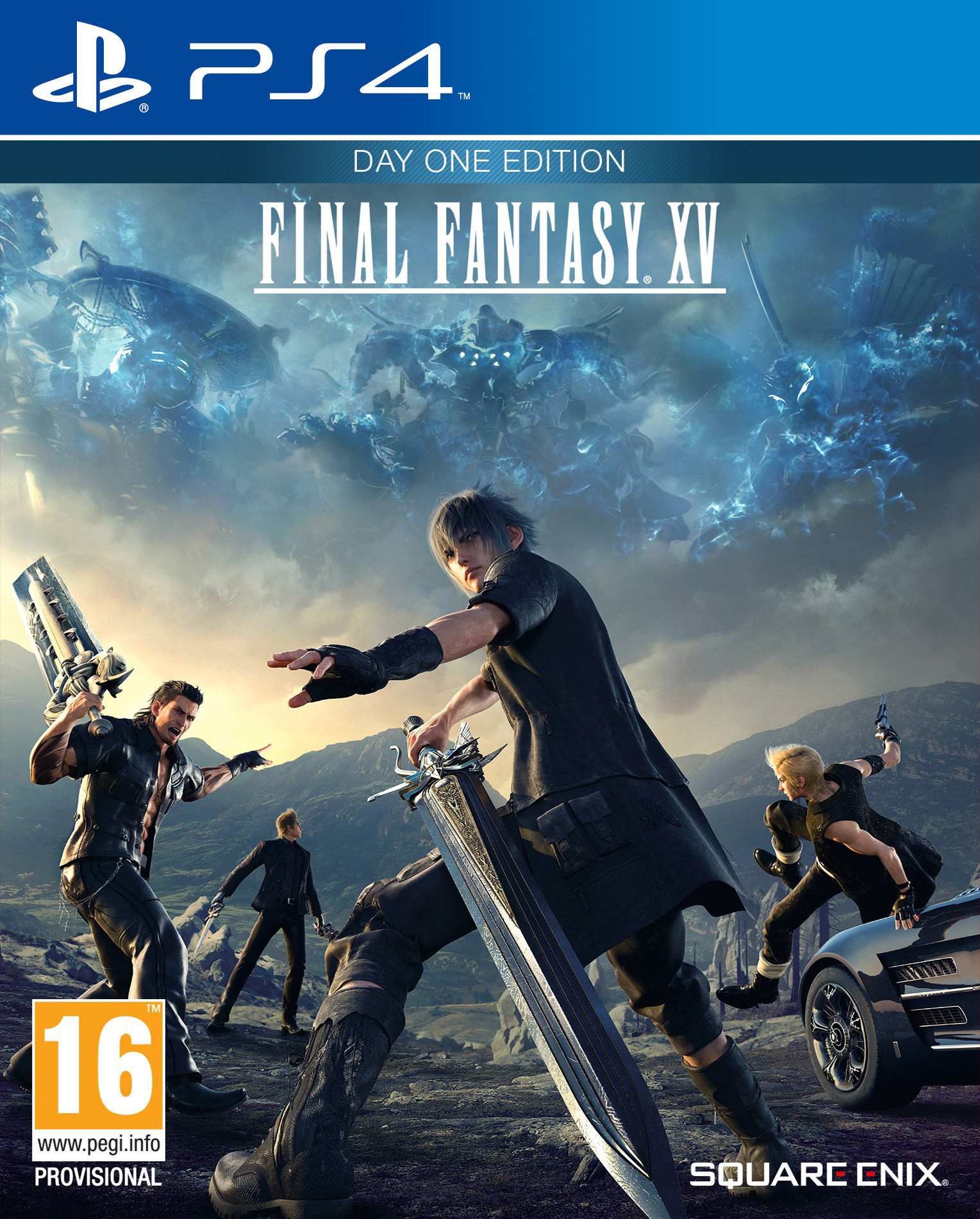 Final Fantasy XV [PS4] 5.05 / 6.72 / 7.02 [EUR] (2016) [Русский] (v1.23)