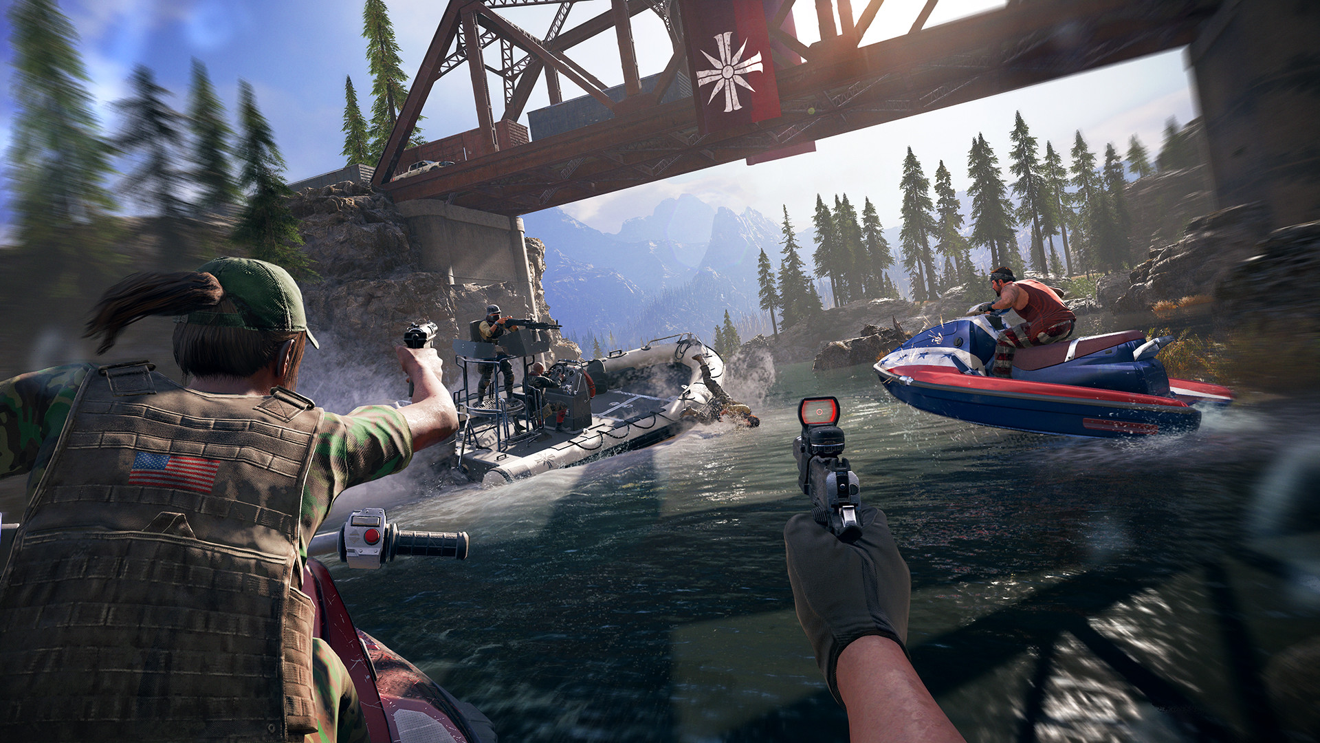 Скриншот *Far Cry 5 Deluxe Edition [PS4] 5.05 / 6.72 / 7.02 [EUR] (2018) [Русский] (v1.12)*