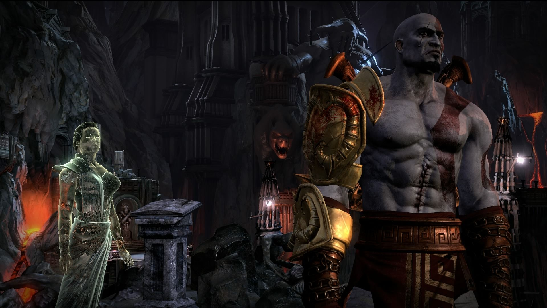 Скриншот *God of War III Remastered [PS4 Exclusive] 5.05 / 6.72 / 7.02 [EUR] (2015) [Русский] (v1.01)*