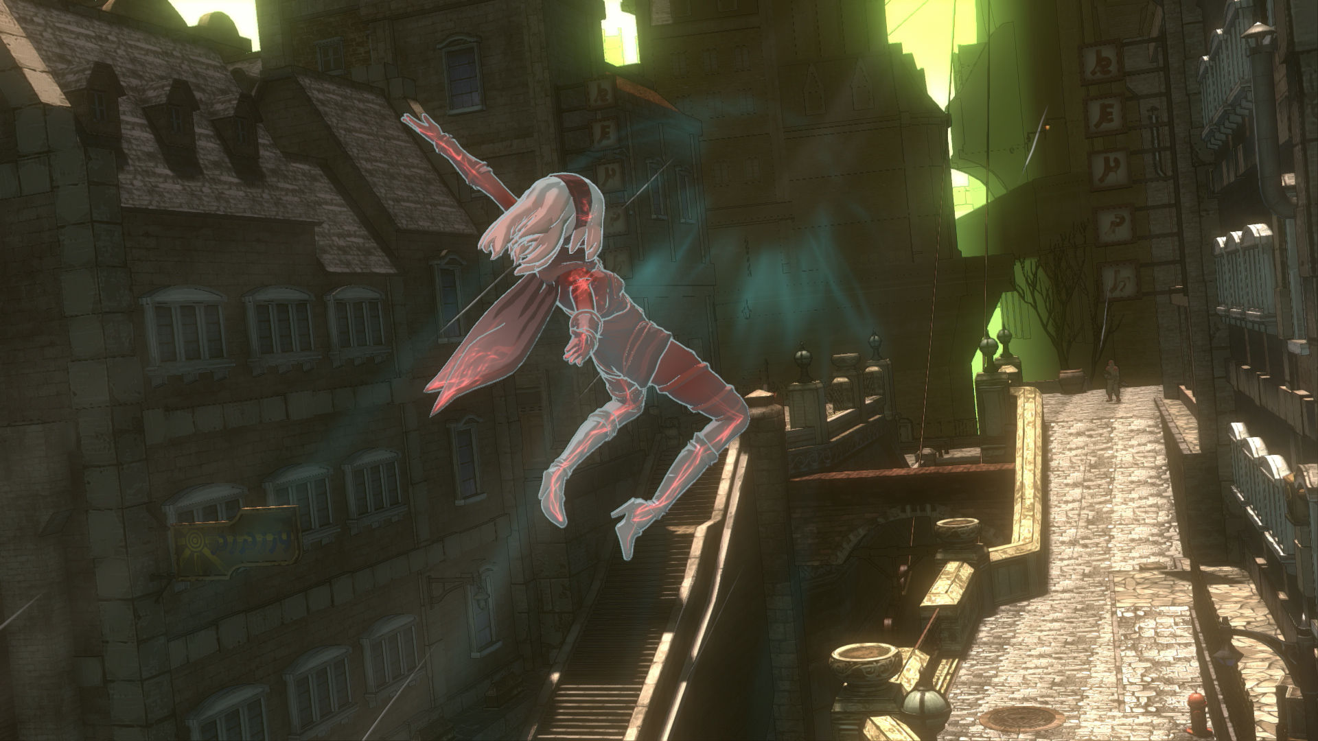 Скриншот *Gravity Rush Remastered [PS4 Exclusive] 5.05 / 6.72 / 7.02 [EUR] (2014) [Русский] (v1.00)*