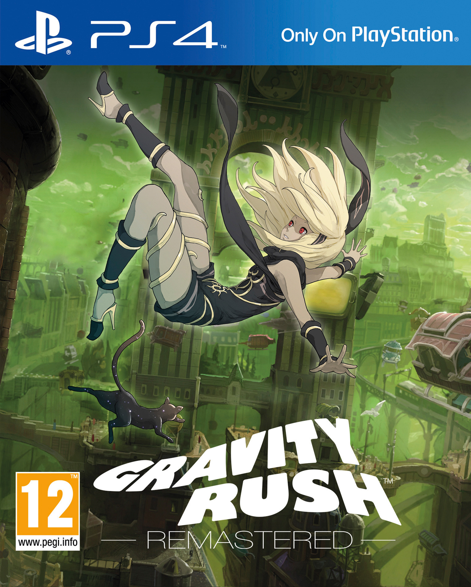 Gravity Rush Remastered [PS4 Exclusive] 5.05 / 6.72 / 7.02 [EUR] (2014) [Русский] (v1.00)