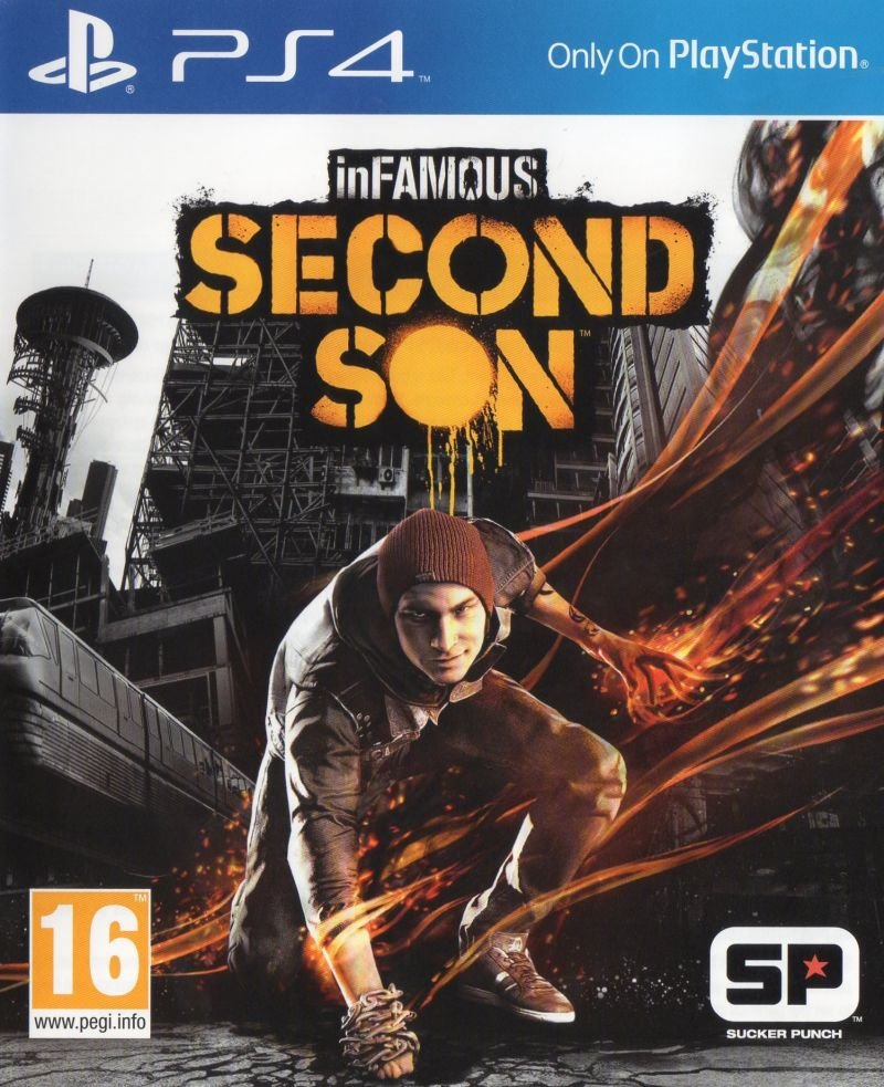 inFamous: Second Son / inFamous: Второй Сын [PS4 Exclusive] 5.05 / 6.72 / 7.02 [EUR] (2014) [Русский/Английский] (v1.07)