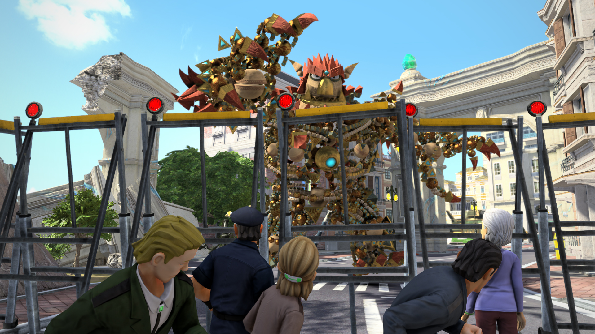 Скриншот *Knack [PS4 Exclusive] 5.05 / 6.72 / 7.02 [EUR] (2013) [Русский] (v1.10)*