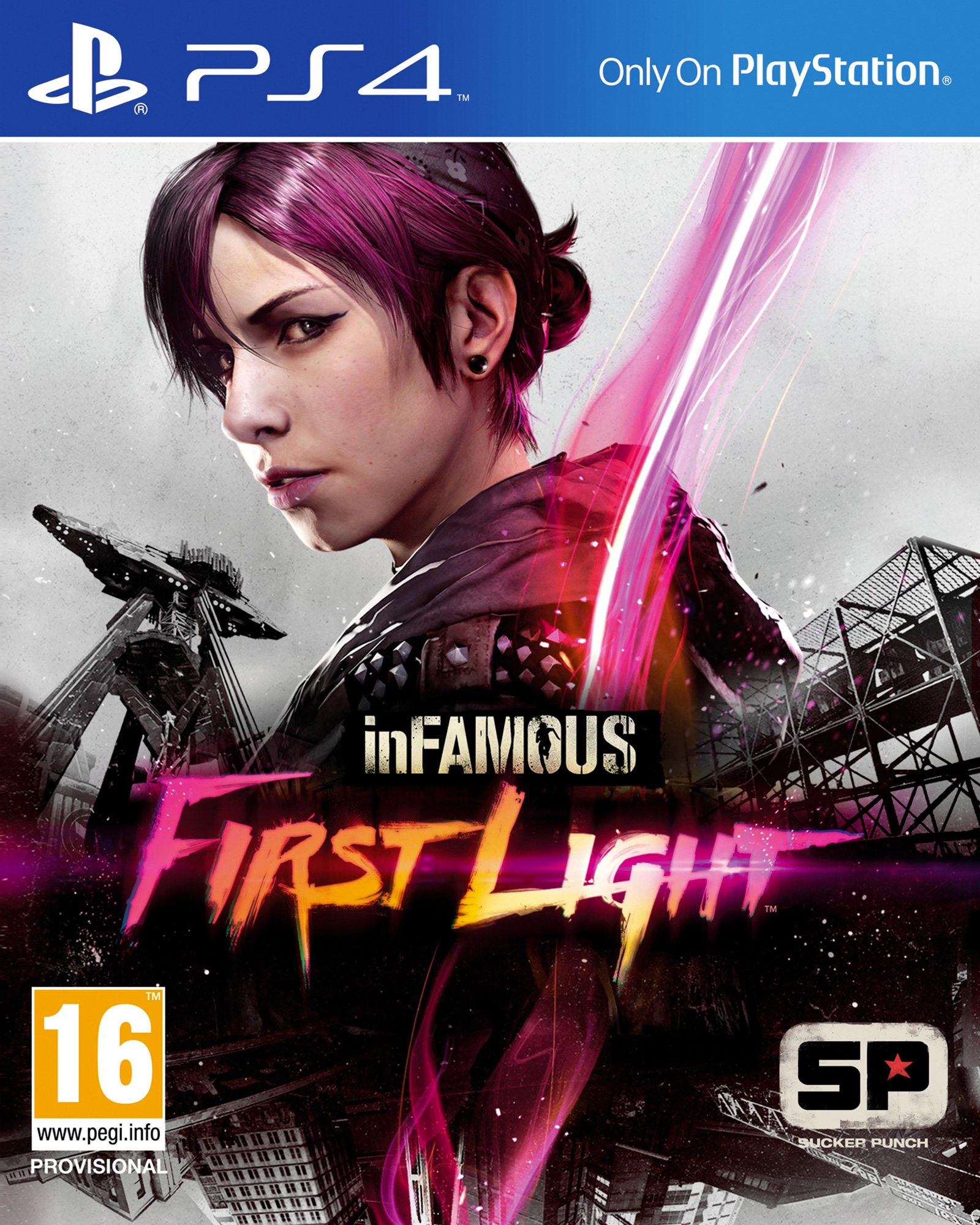 InFamous: First Light [PS4 Exclusive] 5.05 / 6.72 / 7.02 [EUR] (2014) [Русский] (v1.04)