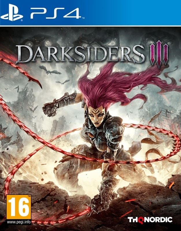 Darksiders III - Digital Deluxe Edition[PS4] 6.72 / 7.02 [EUR] (2018) [Русский] (v1.11)