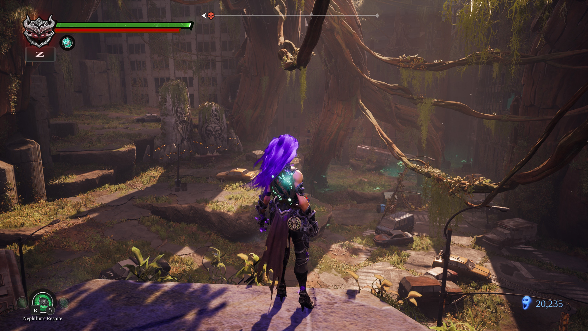 Скриншот *Darksiders III - Digital Deluxe Edition[PS4] 6.72 / 7.02 [EUR] (2018) [Русский] (v1.11)*