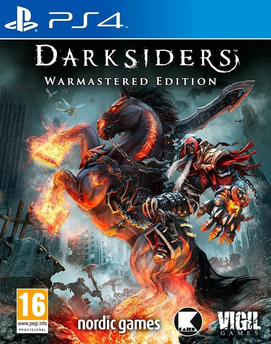 Darksiders: Warmastered Edition [PS4] 5.05 / 6.72 / 7.02 [EUR] (2016) [Русский] (v1.01)