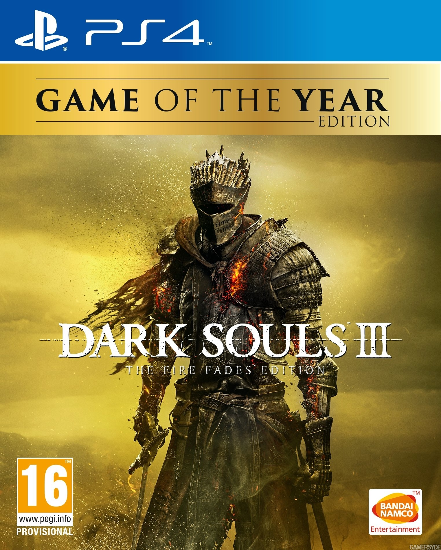 Dark Souls 3: The Fire Fades Edition [PS4] 5.05 / 6.72 / 7.02 [EUR] (2017) [Русский] (v1.03)