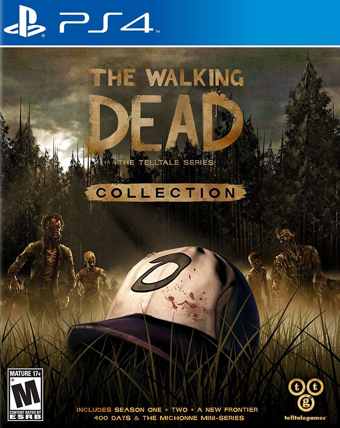 The Walking Dead Collection [PS4] 5.05 / 6.72 / 7.02 [EUR] (2017) [Русский] (v1.03)