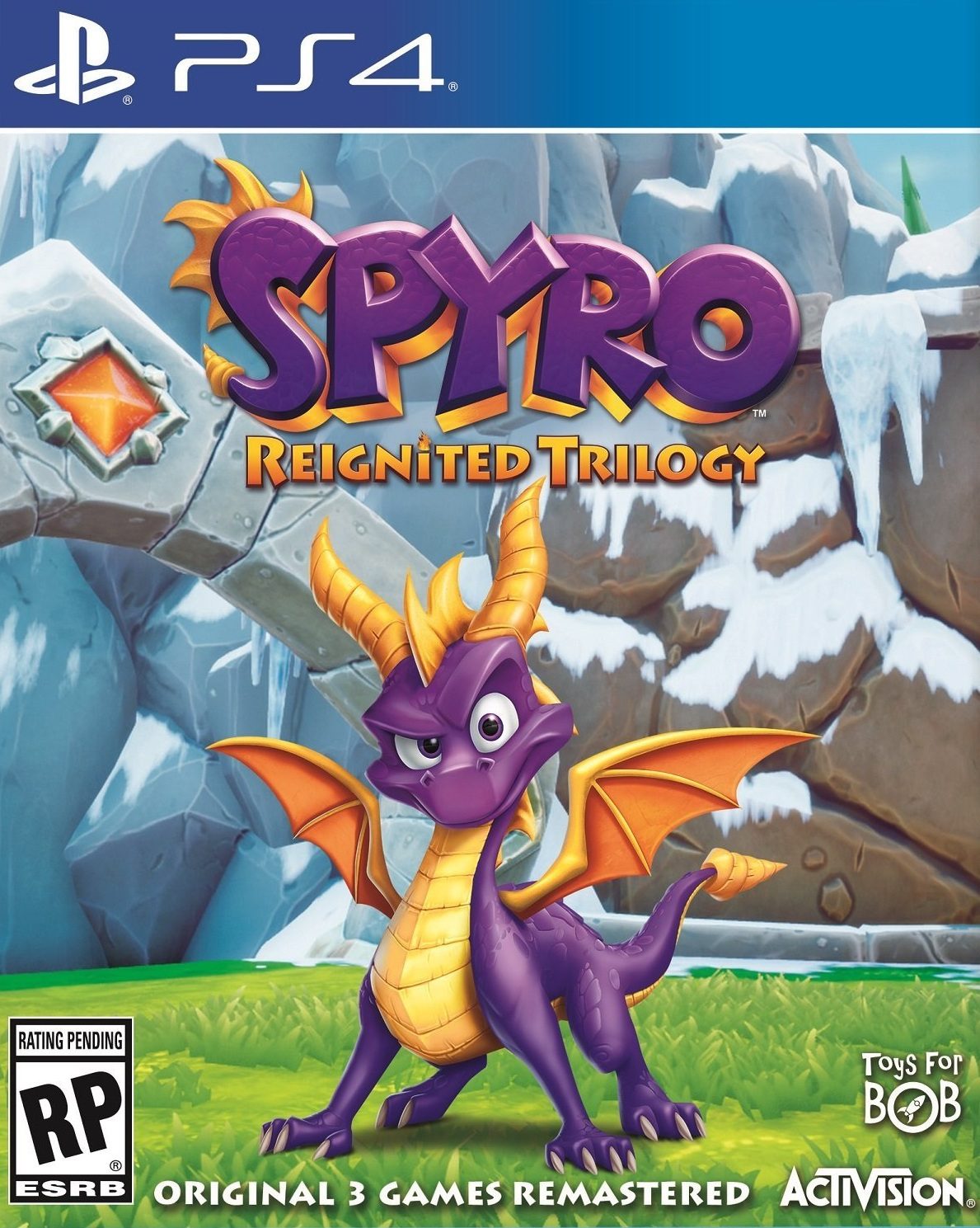 Spyro Reignited Trilogy [PS4] 5.05 / 6.72 / 7.02 [USA] (2018) [Русский] (v1.03)