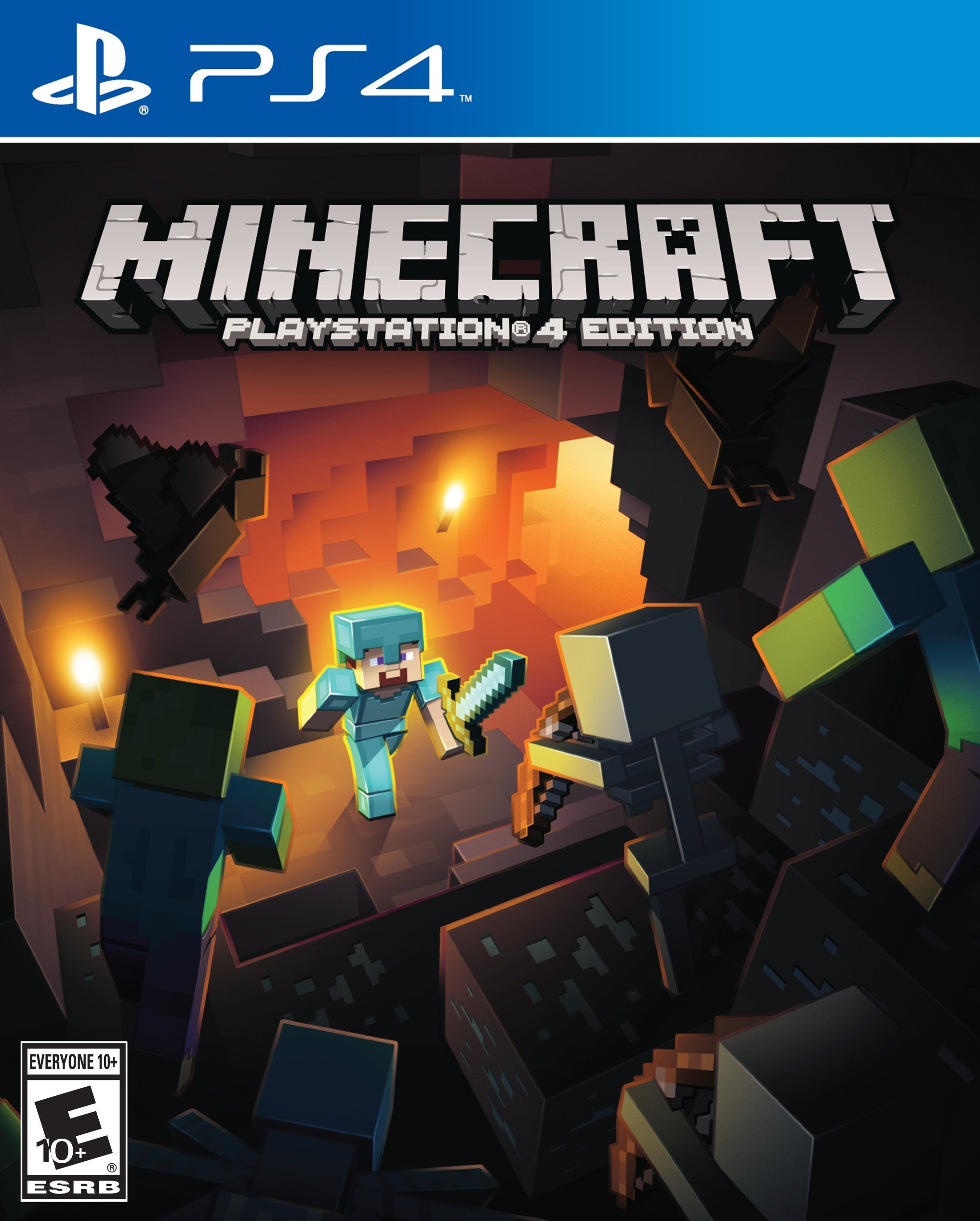 Minecraft PlayStation 4 Edition [PS4] 5.05 / 6.72 / 7.02 [EUR] (2019) [Русский] (v2.06)