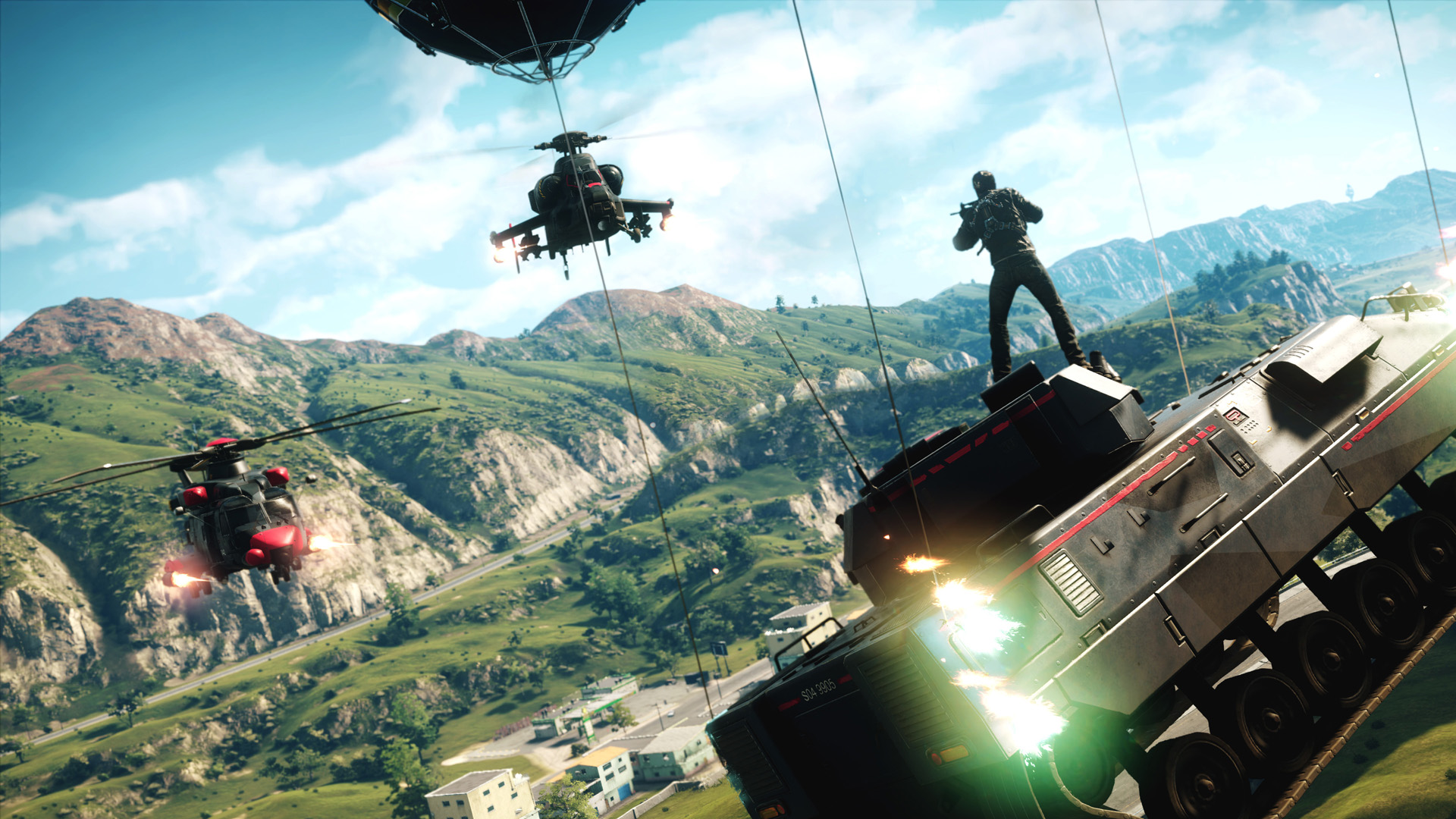 Скриншот *Just Cause 4 [PS4] 5.05 / 6.72 / 7.02 [EUR] (2018) [Русский] (v1.00)*