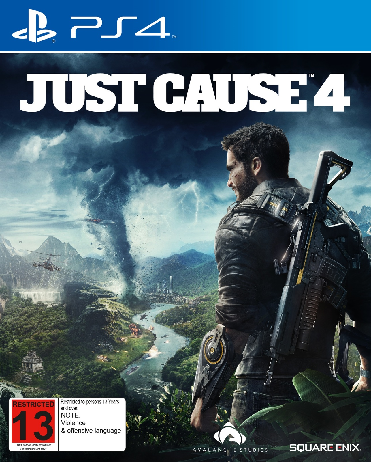 Just Cause 4 [PS4] 5.05 / 6.72 / 7.02 [EUR] (2018) [Русский] (v1.00)