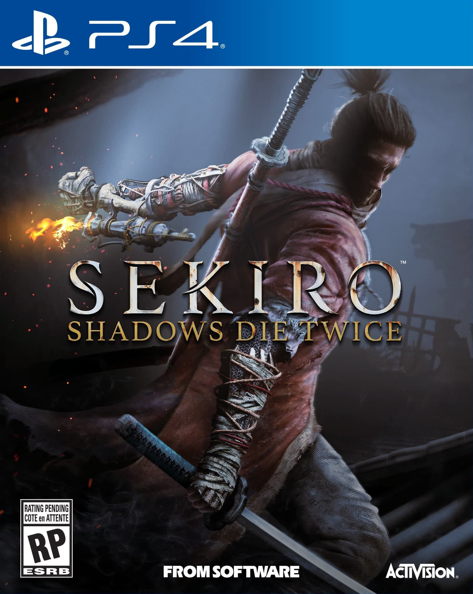 Sekiro: Shadows Die Twice [PS4] 5.05 / 6.72 / 7.02 [EUR] (2019) [Русский] (v1.04)