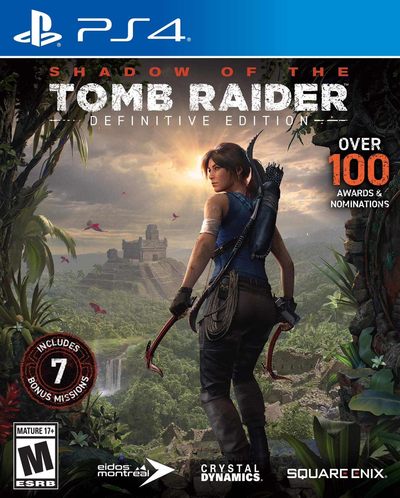 Shadow of the Tomb Raider - Definitive Edition [PS4] 5.05 / 6.72 / 7.02 [EUR] (2018) [Русский] (v2.00)