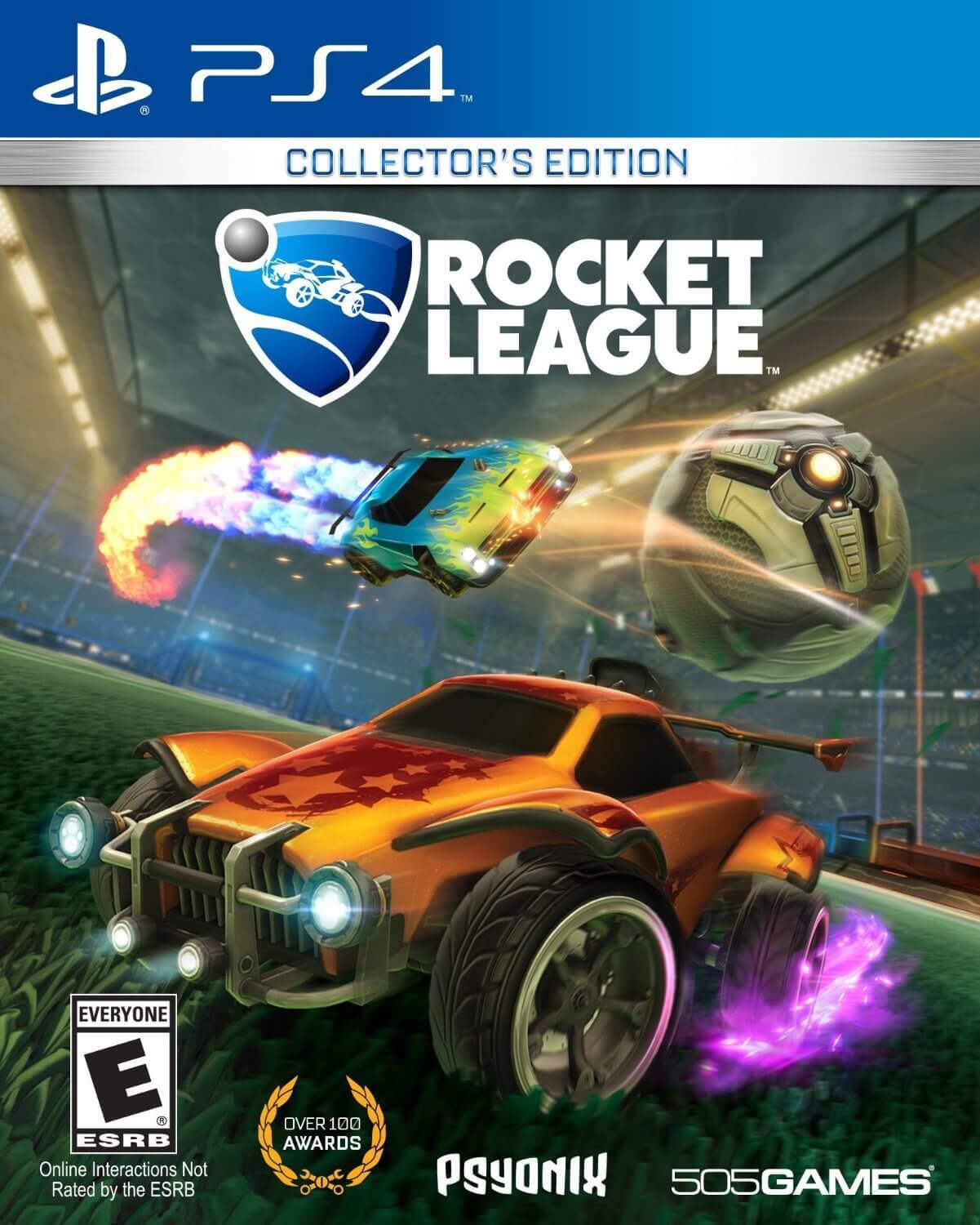 Rocket League [PS4] 5.05 / 6.72 / 7.02 [EUR] (2015) [Русский] (v1.68)