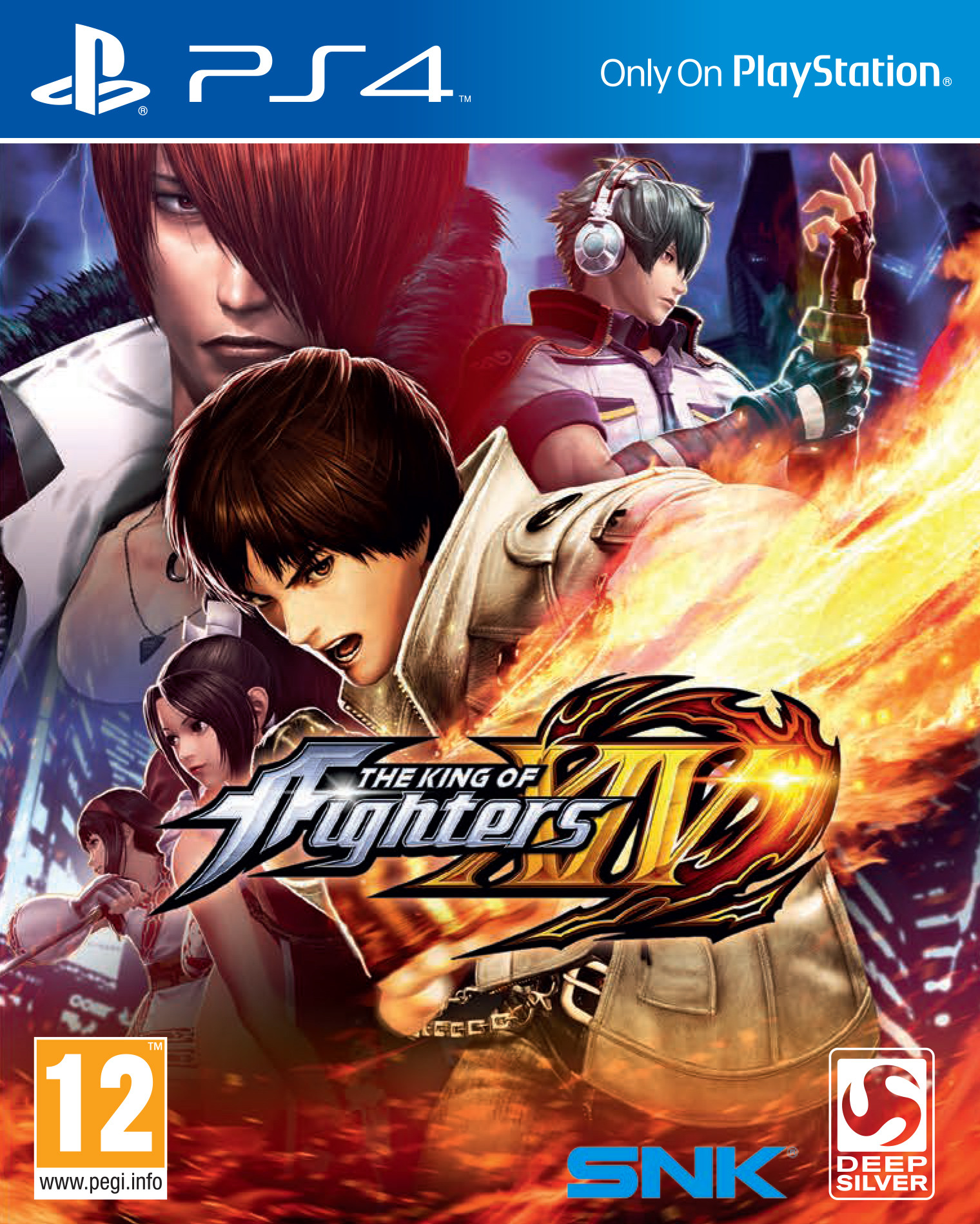 The King of Fighters XIV [PS4 Exclusive] 5.05 / 6.72 / 7.02 [EUR] (2016) [Английский] (v1.00)